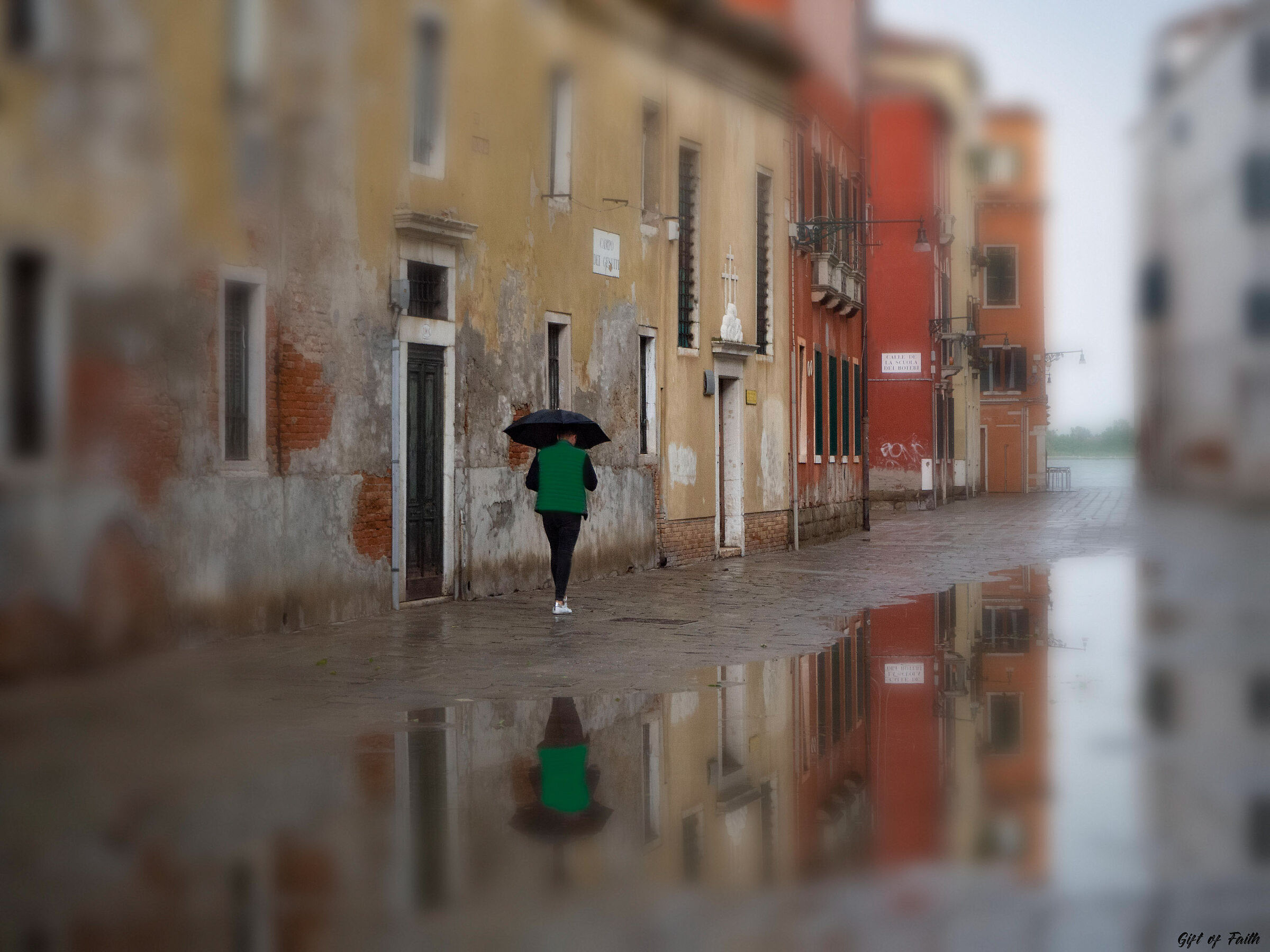 The Rain is over .. Venezia...