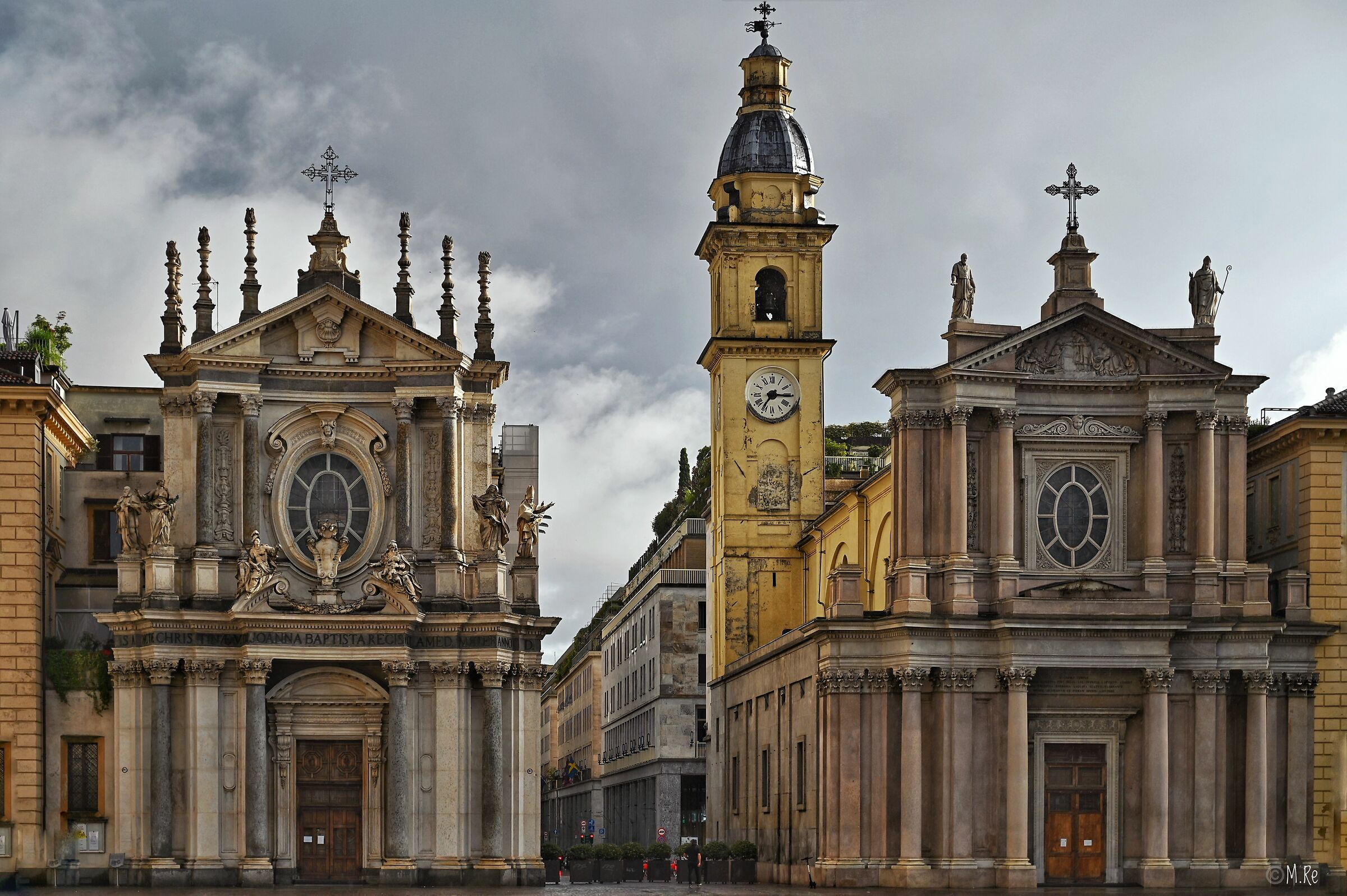 Churches Santa Cristina and St. Charles - Turin...