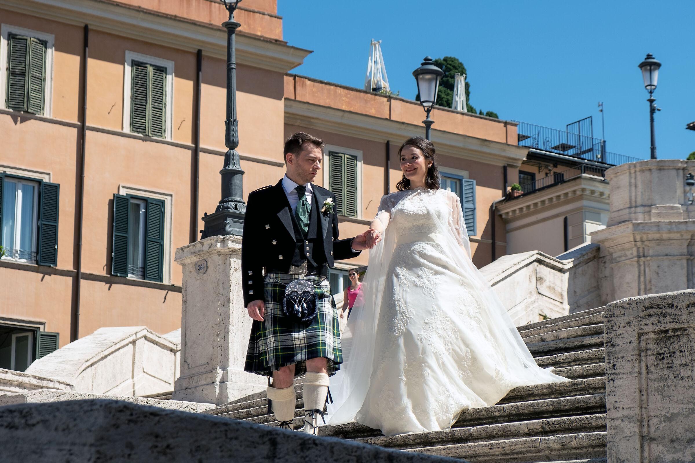 Scottish wedding...