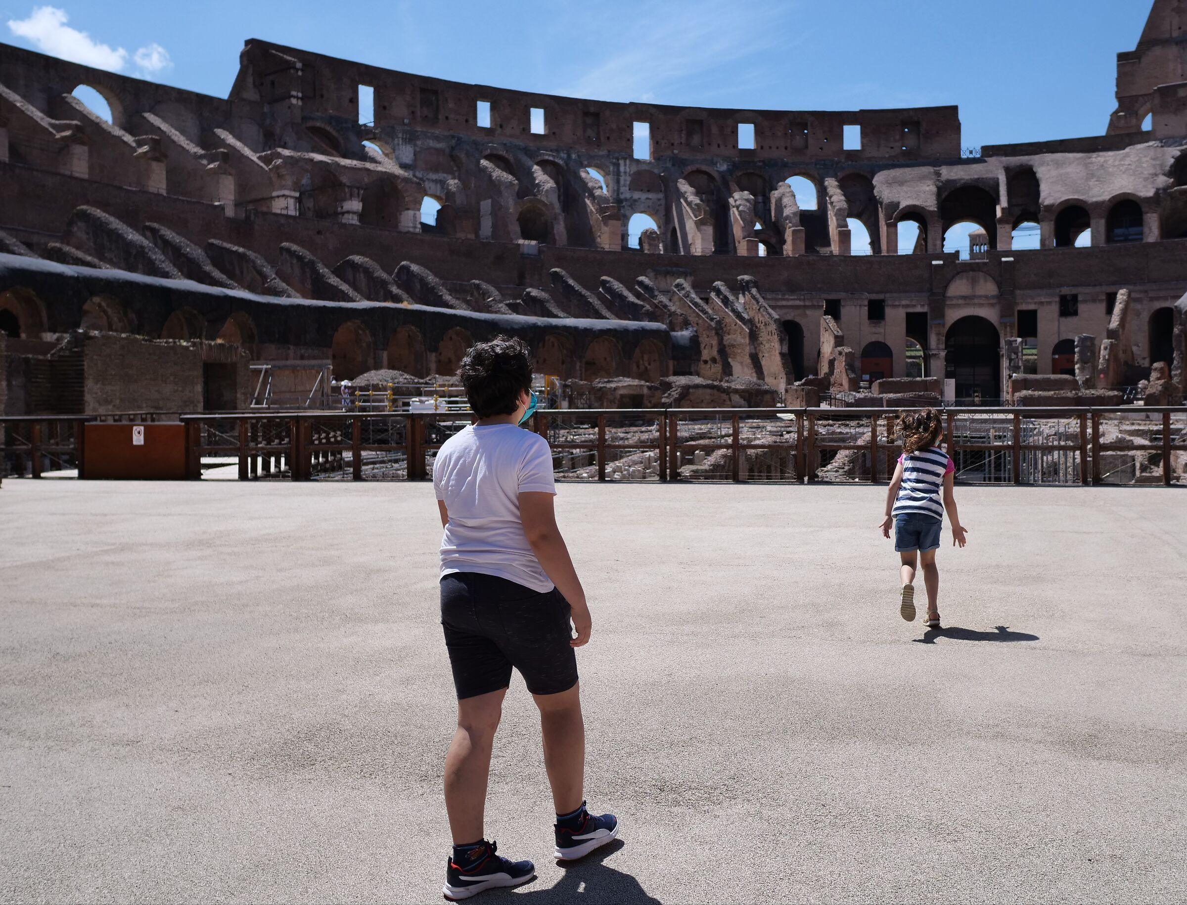 The Return of gladiators...