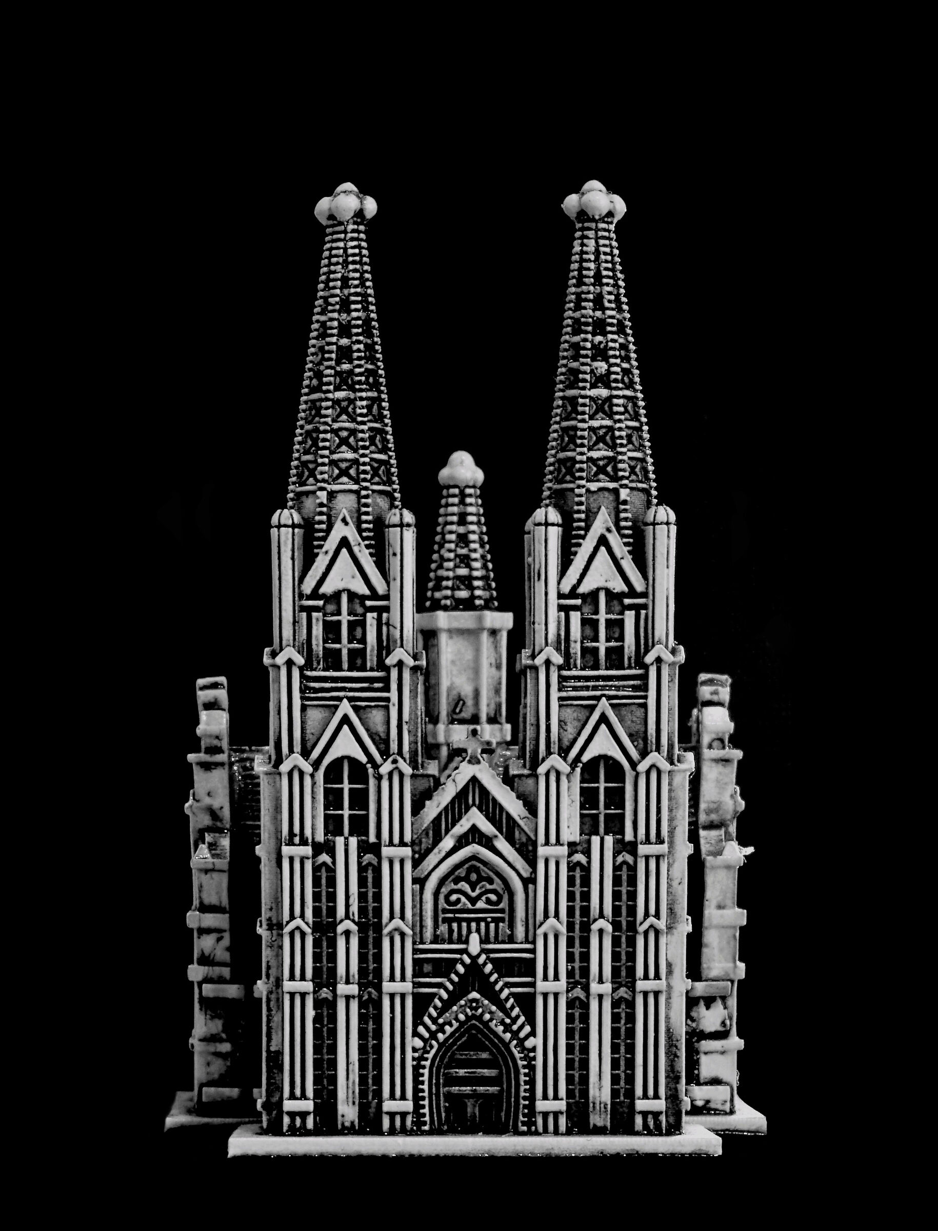 Miniature Cologne Cathedral...