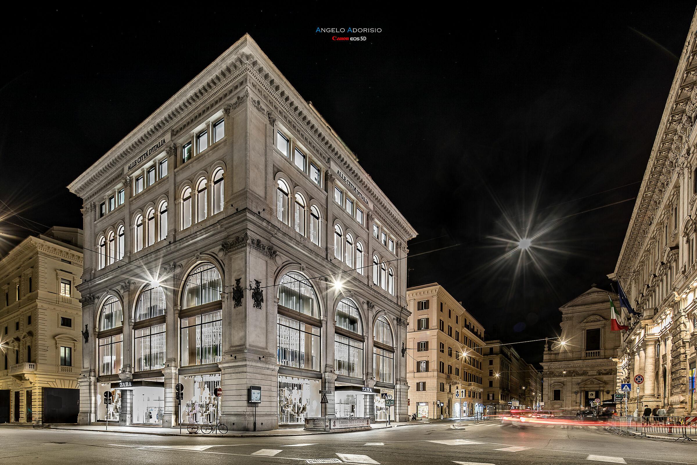 Rome - Palazzo Bocconi - former Rinascente...