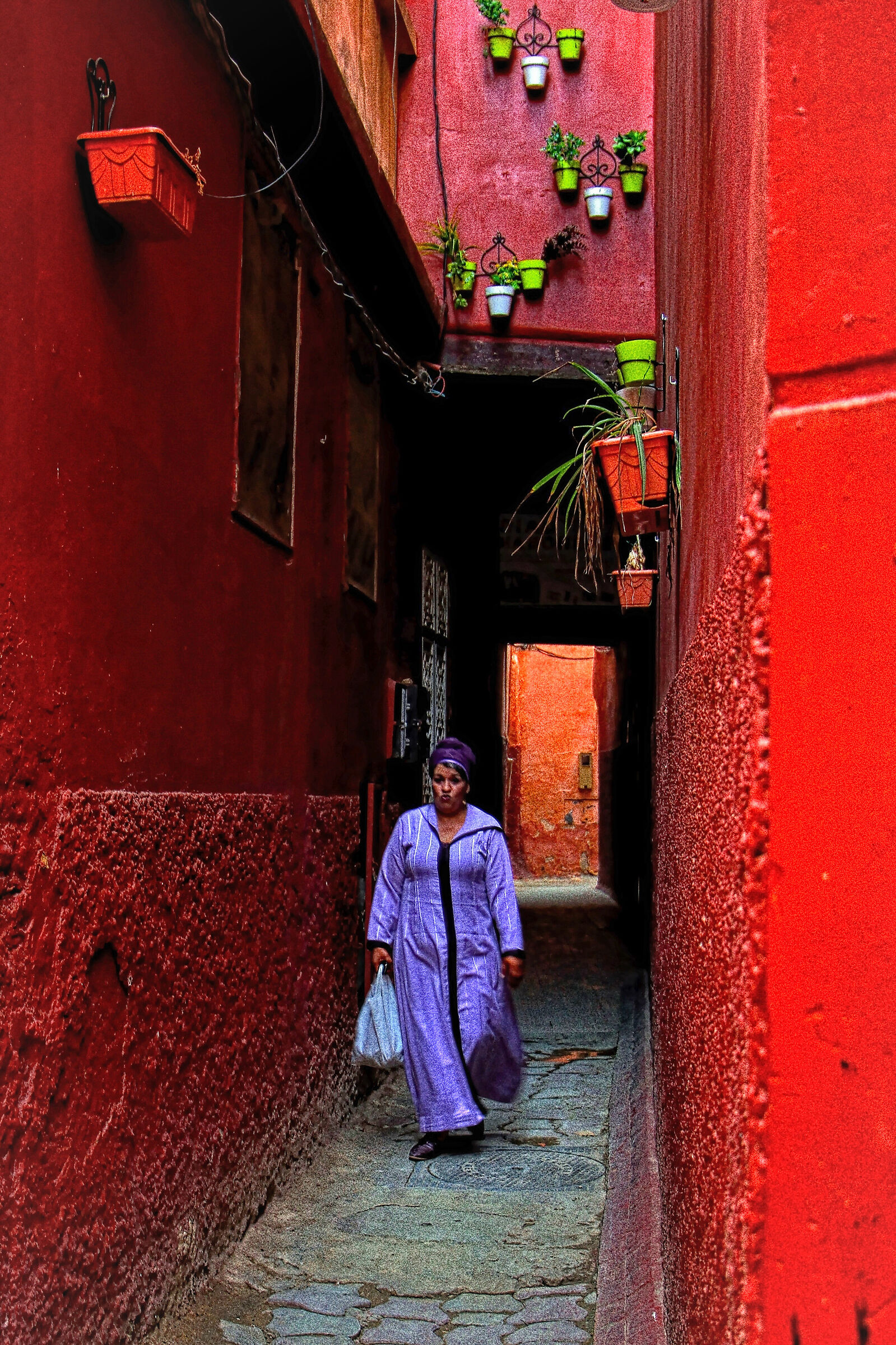 the colors of the medina...