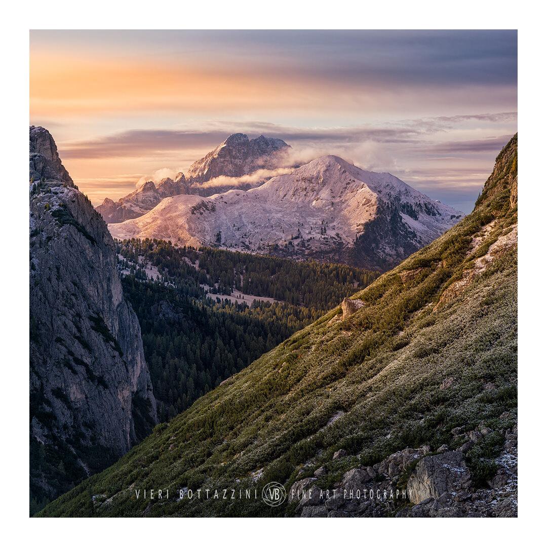 Unexpected Dolomite sunrise...