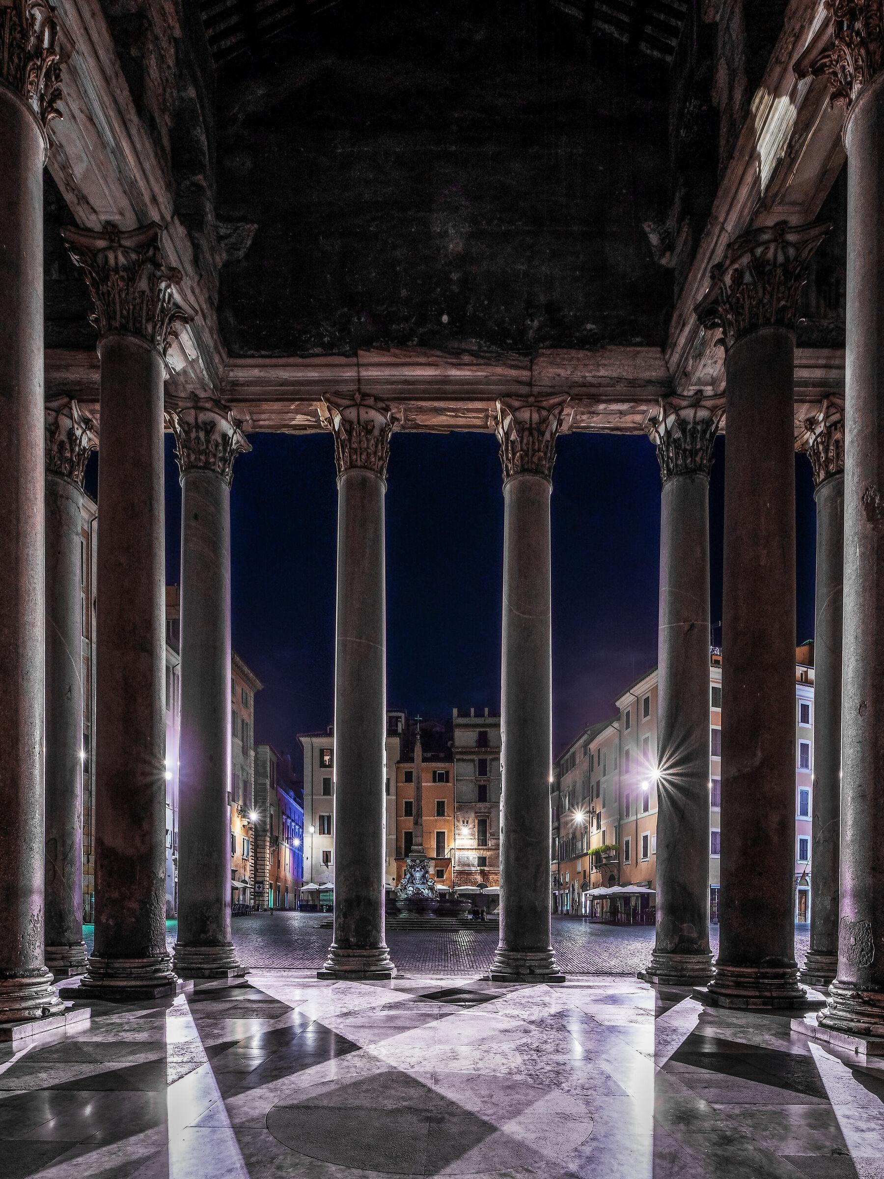 Dal Pantheon...