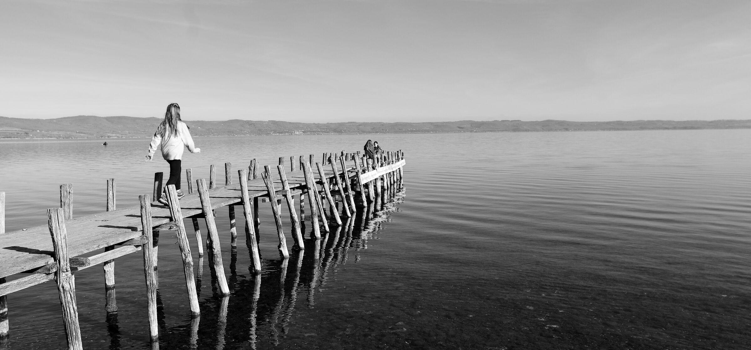 Lake Bolsena ...