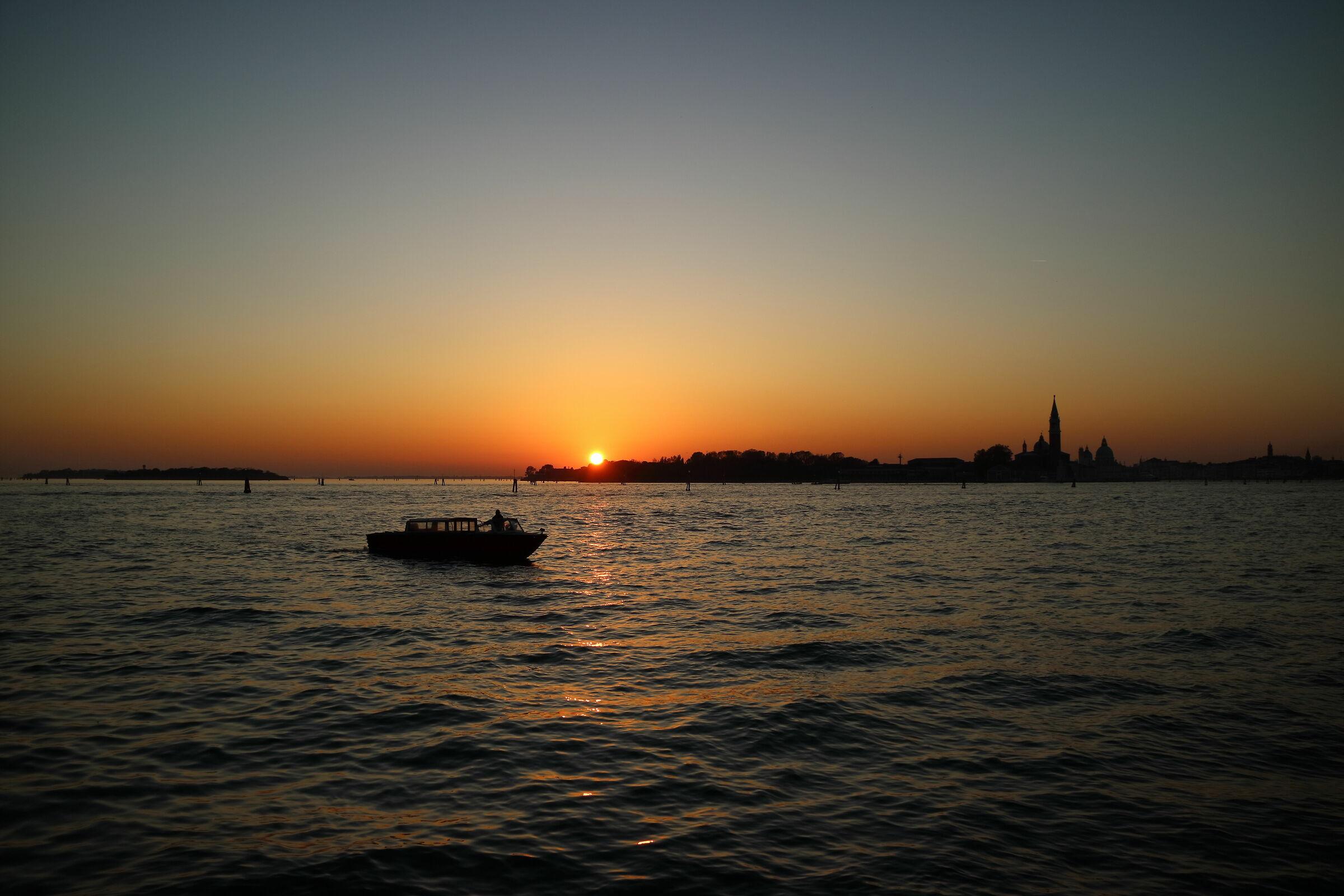 Venice sunset...