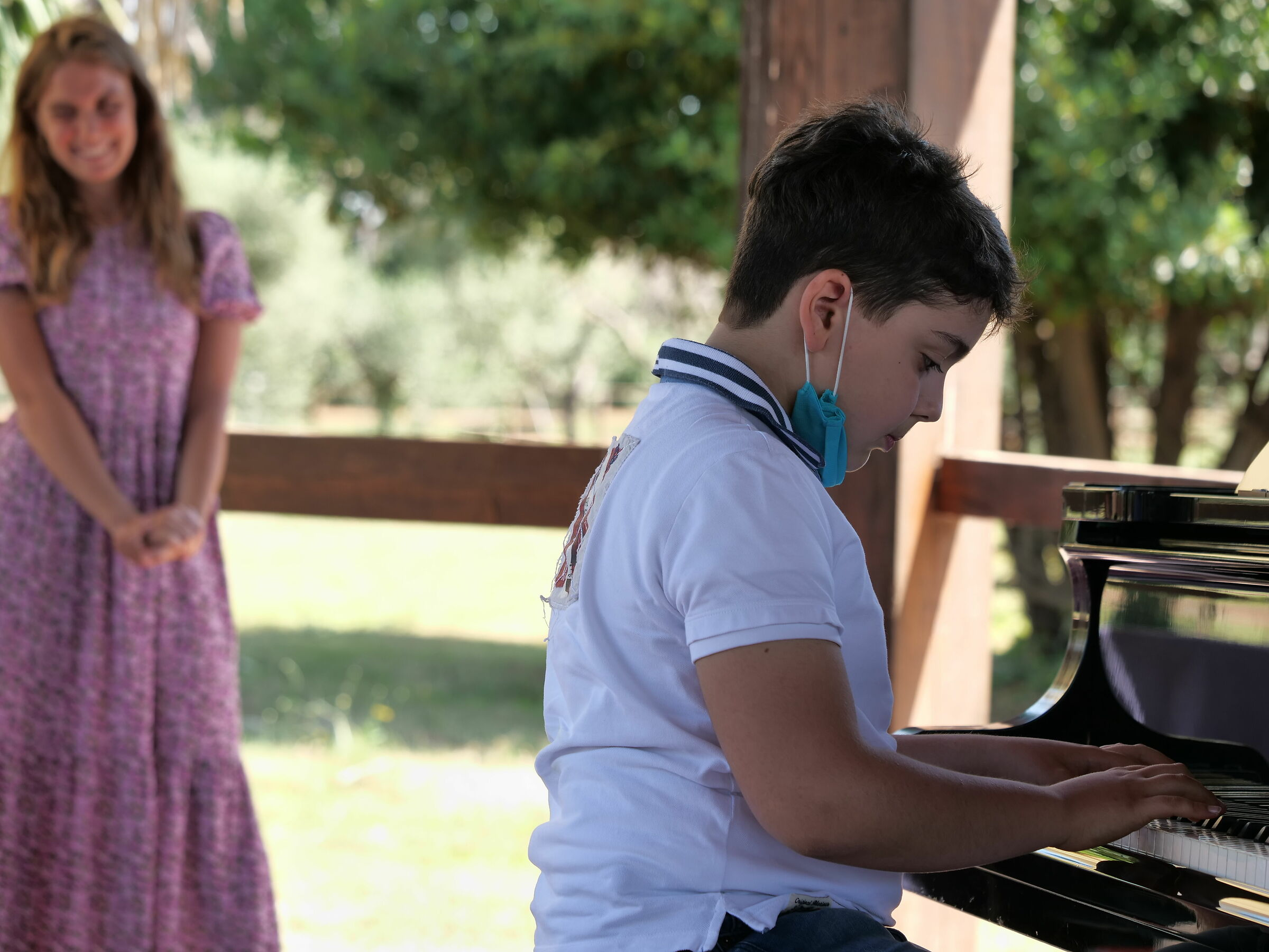 The Pianist and His Muse...