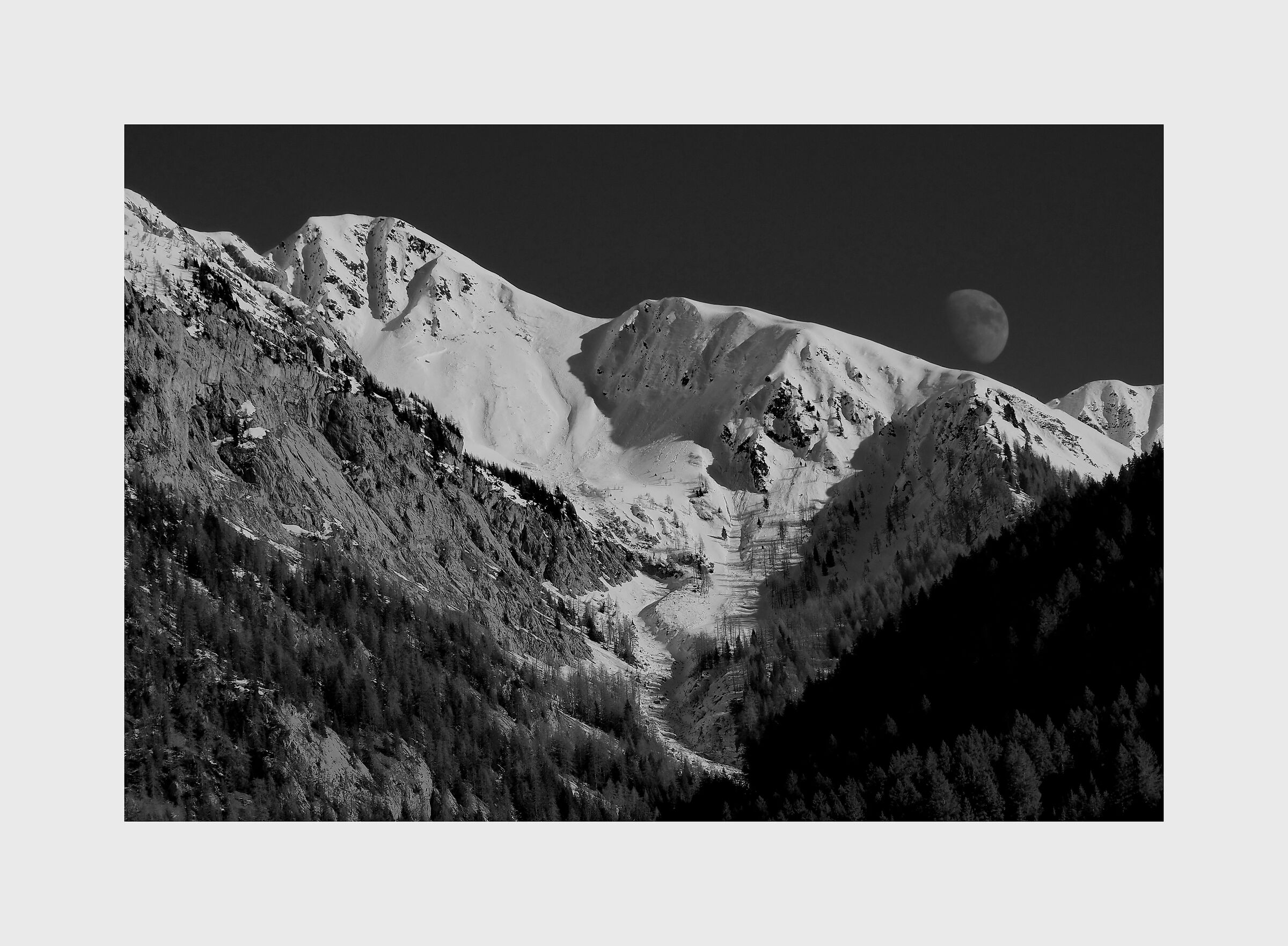 The Moon and the Snow...