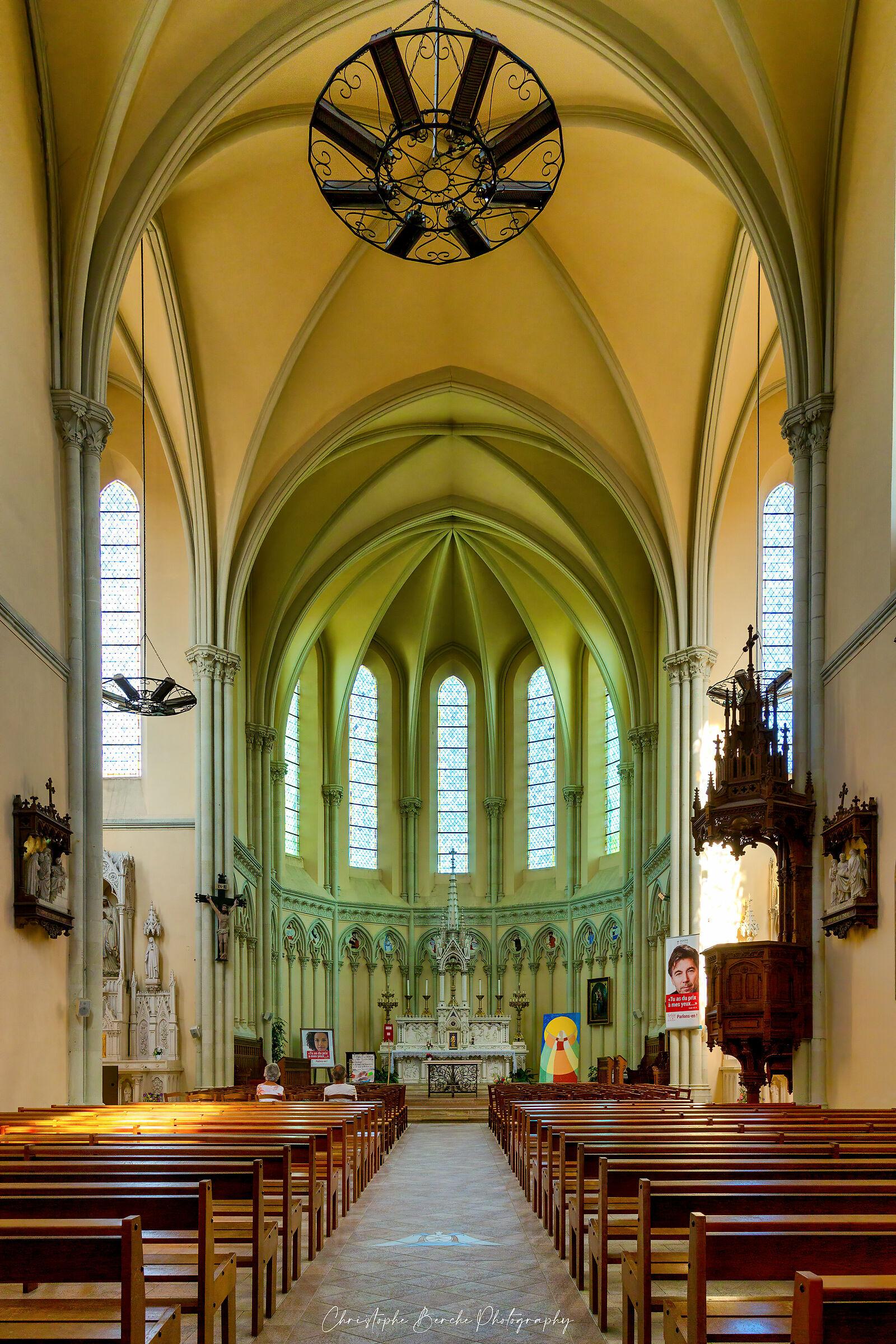 Saint Peter's Church ( Changé, France )...