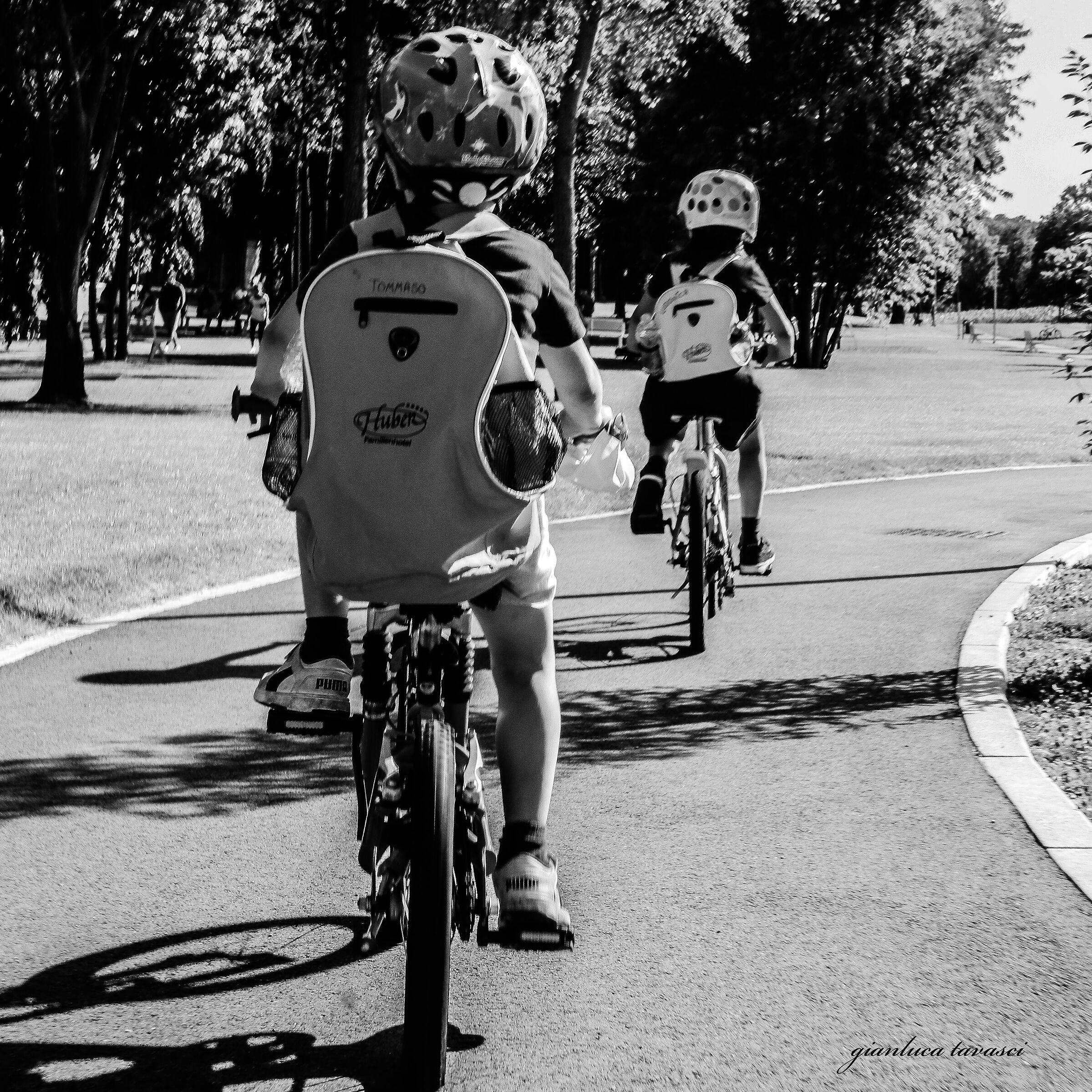 Pomeriggio in bici...