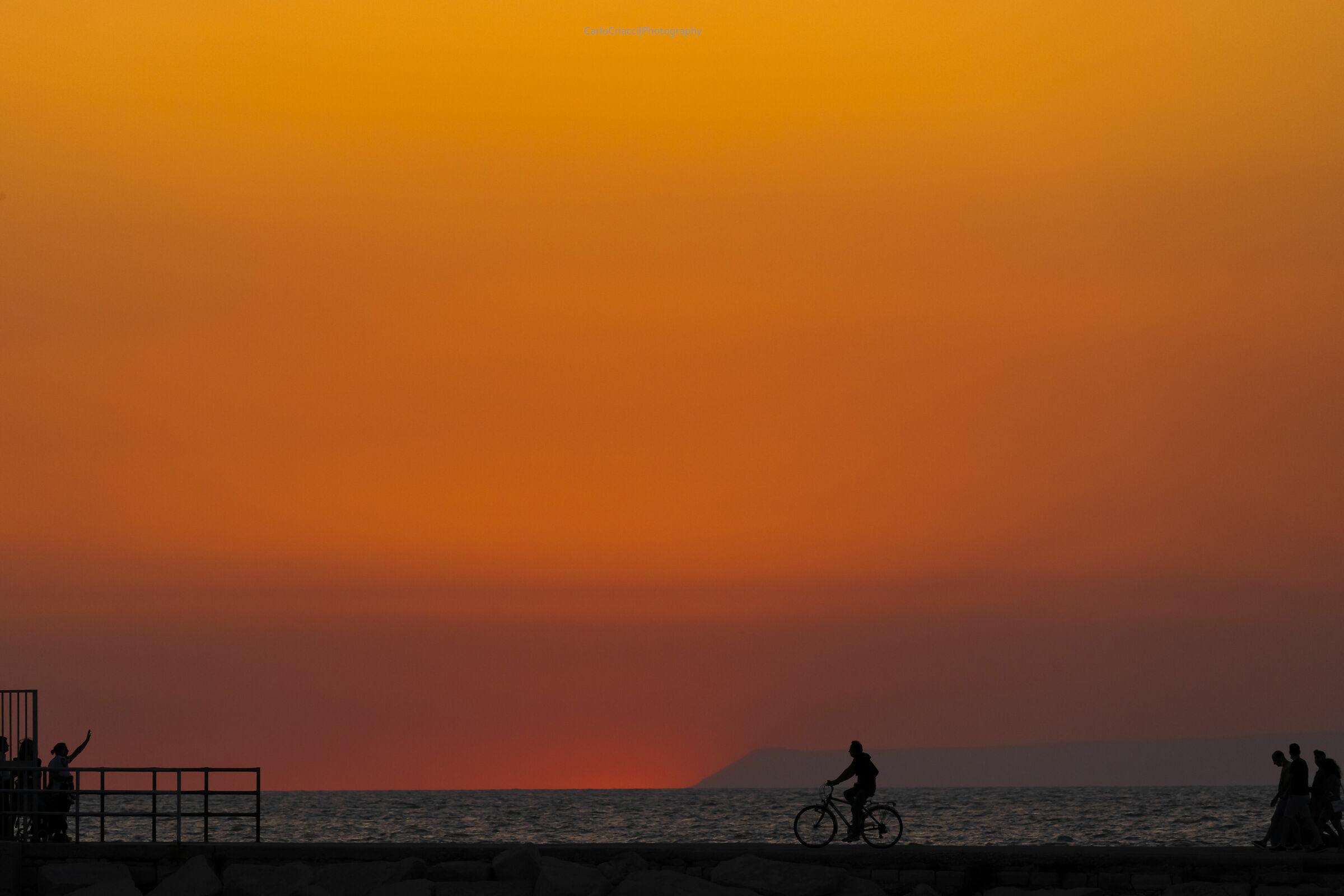 Sunset in Trani...