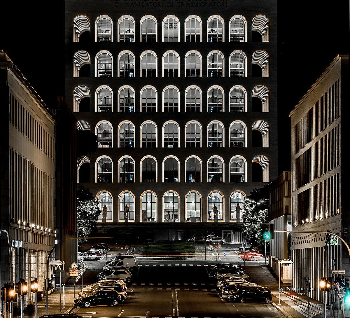 Palazzo della Civiltà Italiana - Colosseo Quadrato...