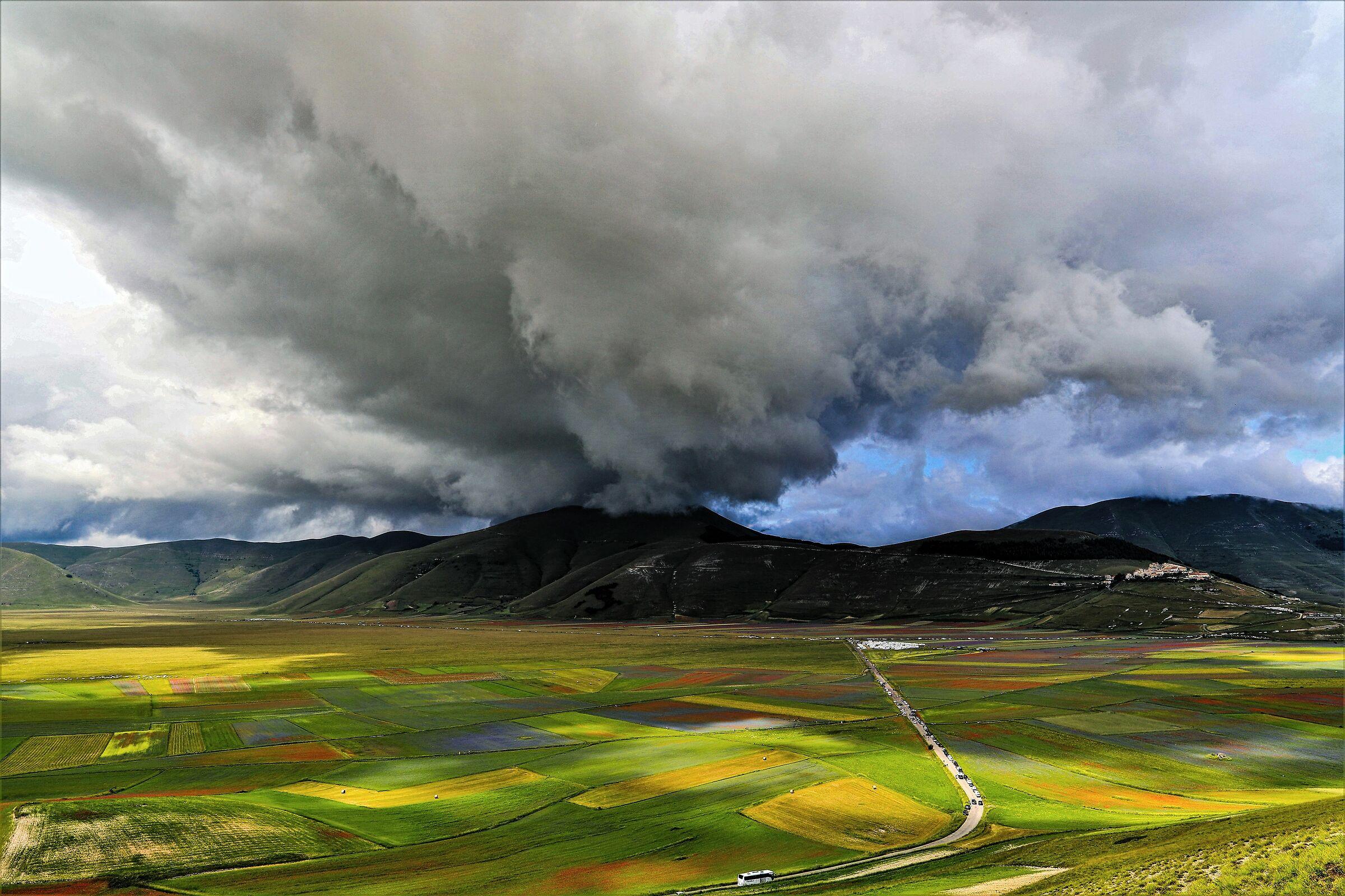 Eruption on the Great Plain...