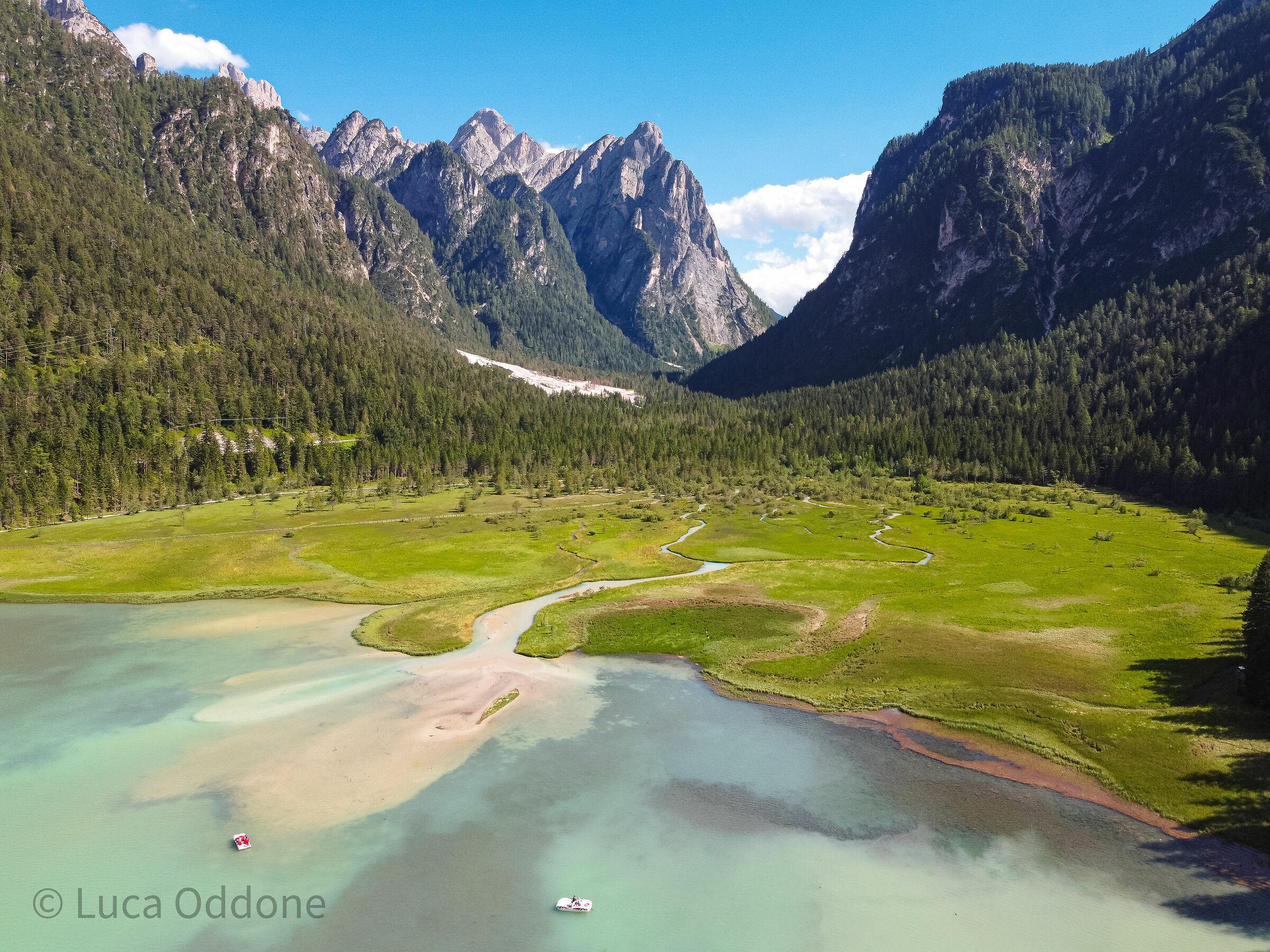 Le origini del lago di Dobbiaco...