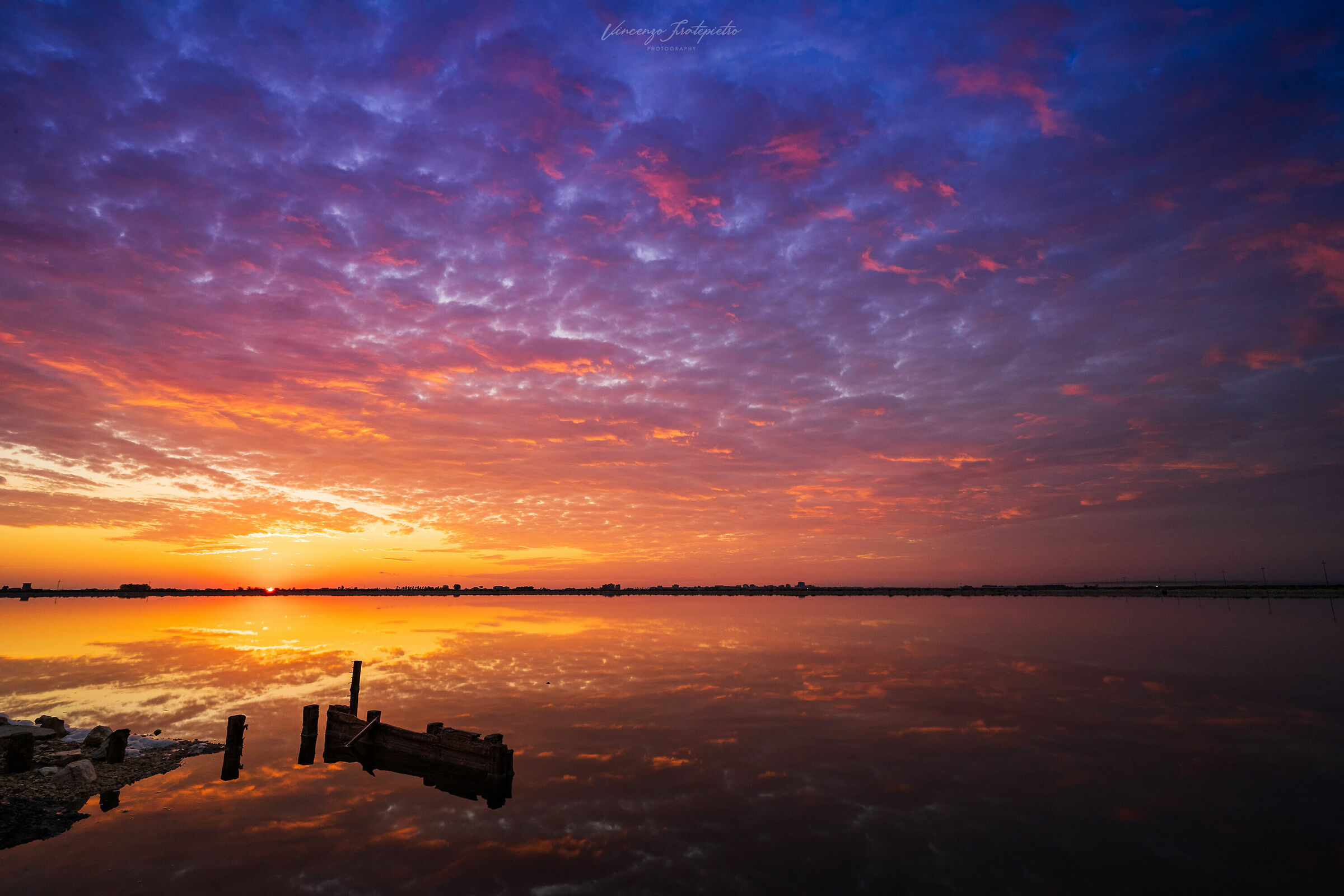 sunrise to Margherita of Savoy...