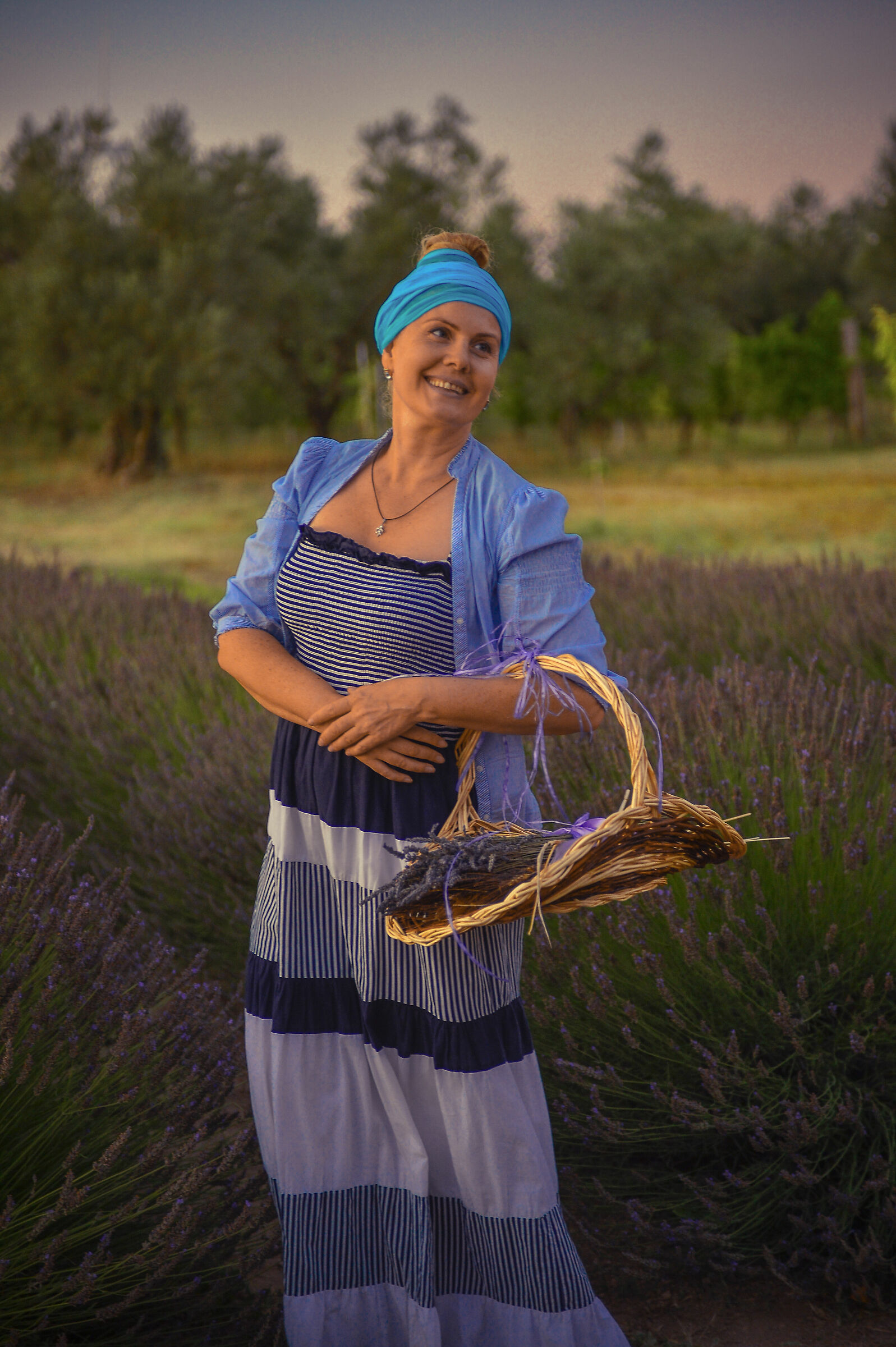The Lavender Lady...