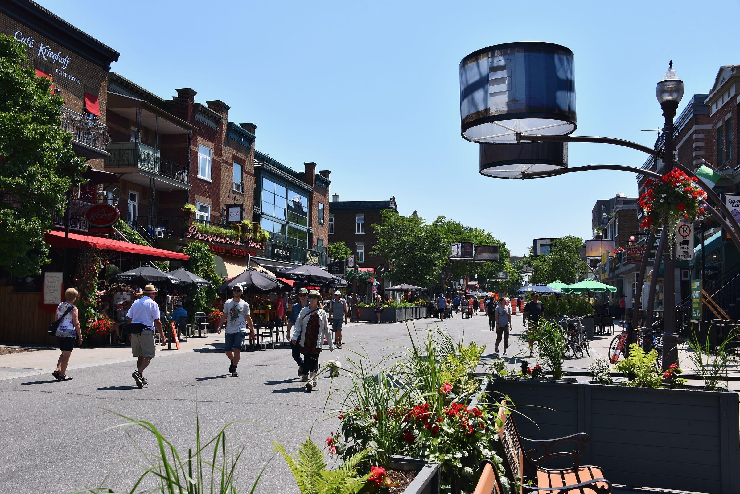 Street Cartier, tra Quebec City...
