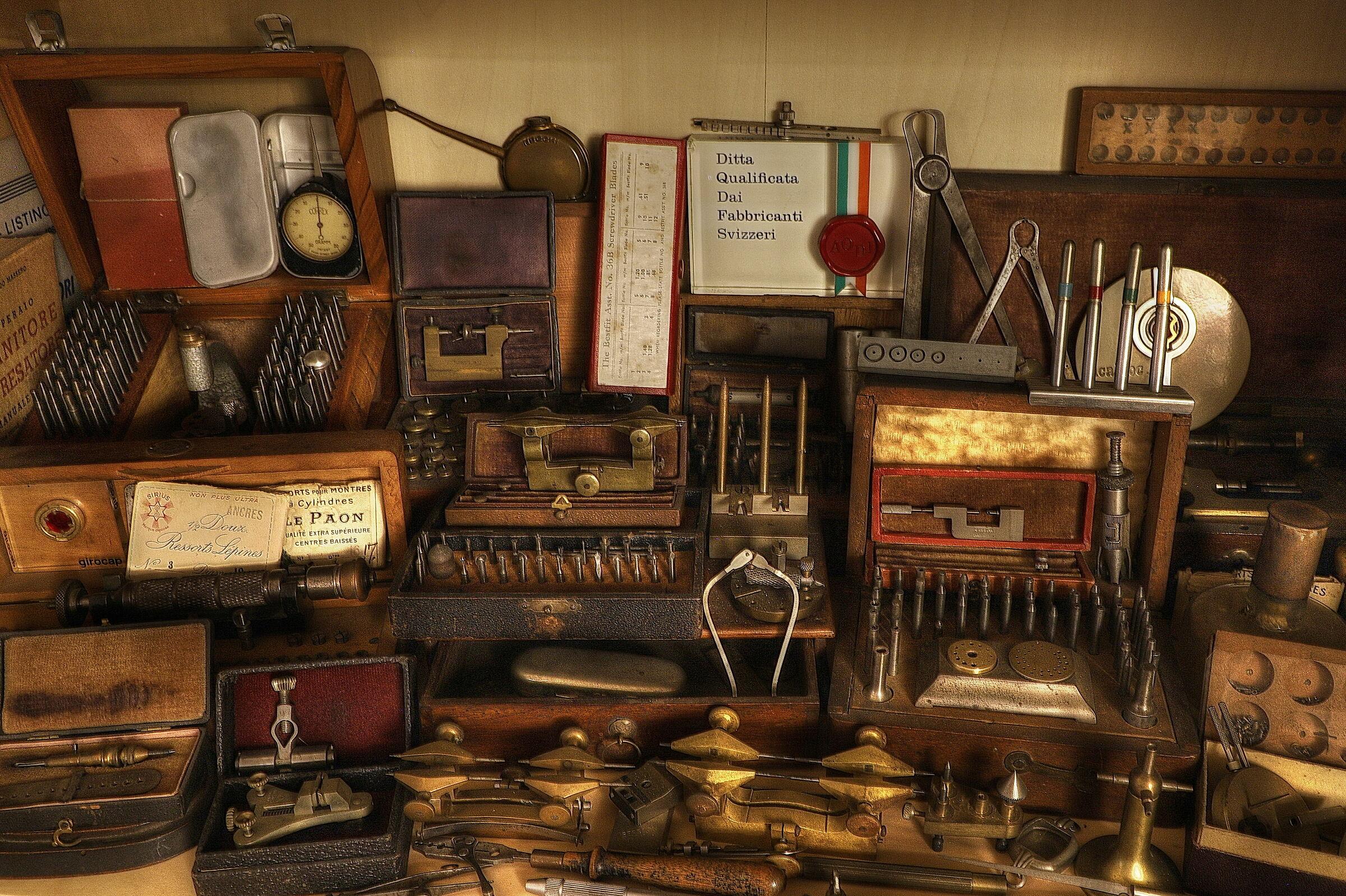 in the watchmaker's secrets...