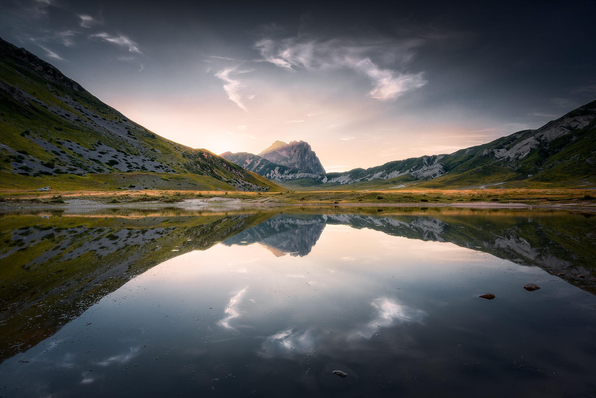 Lago di Pietranzoni...