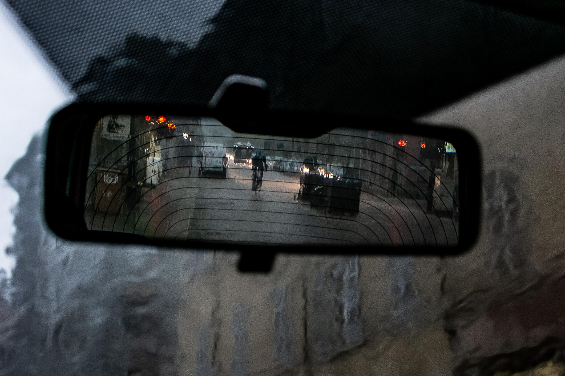 rain in the city...