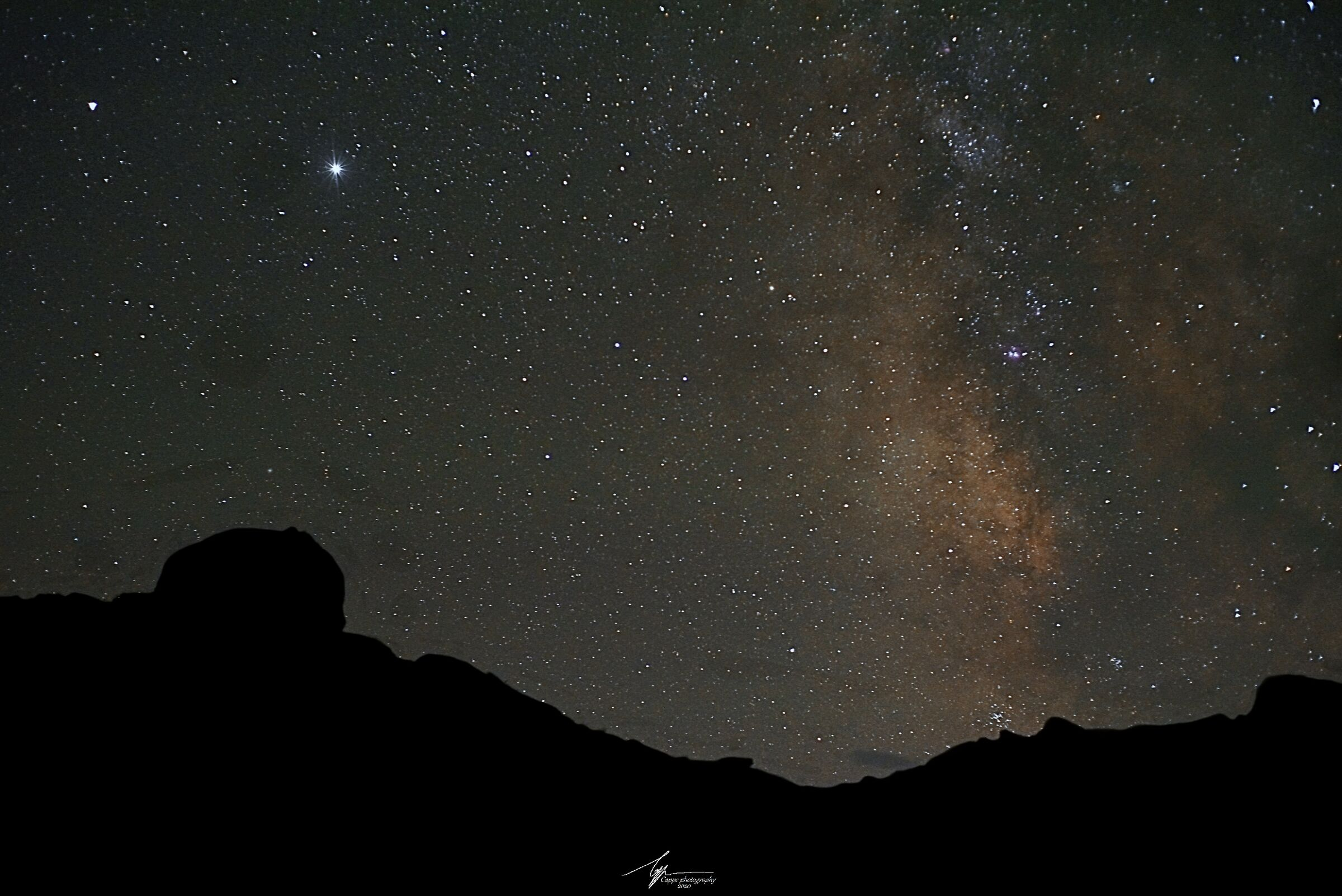 My first Milky Way...