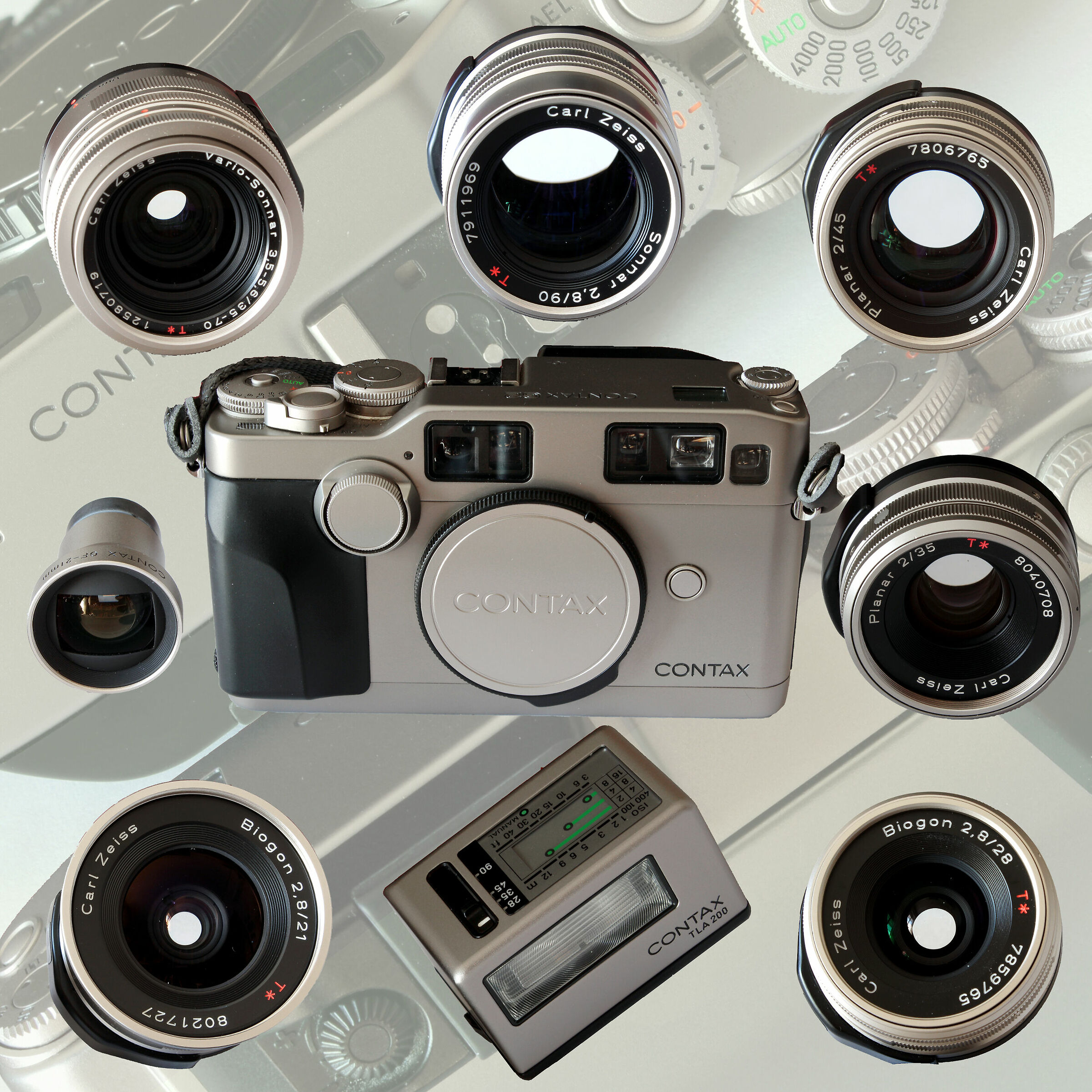 Contax G system...