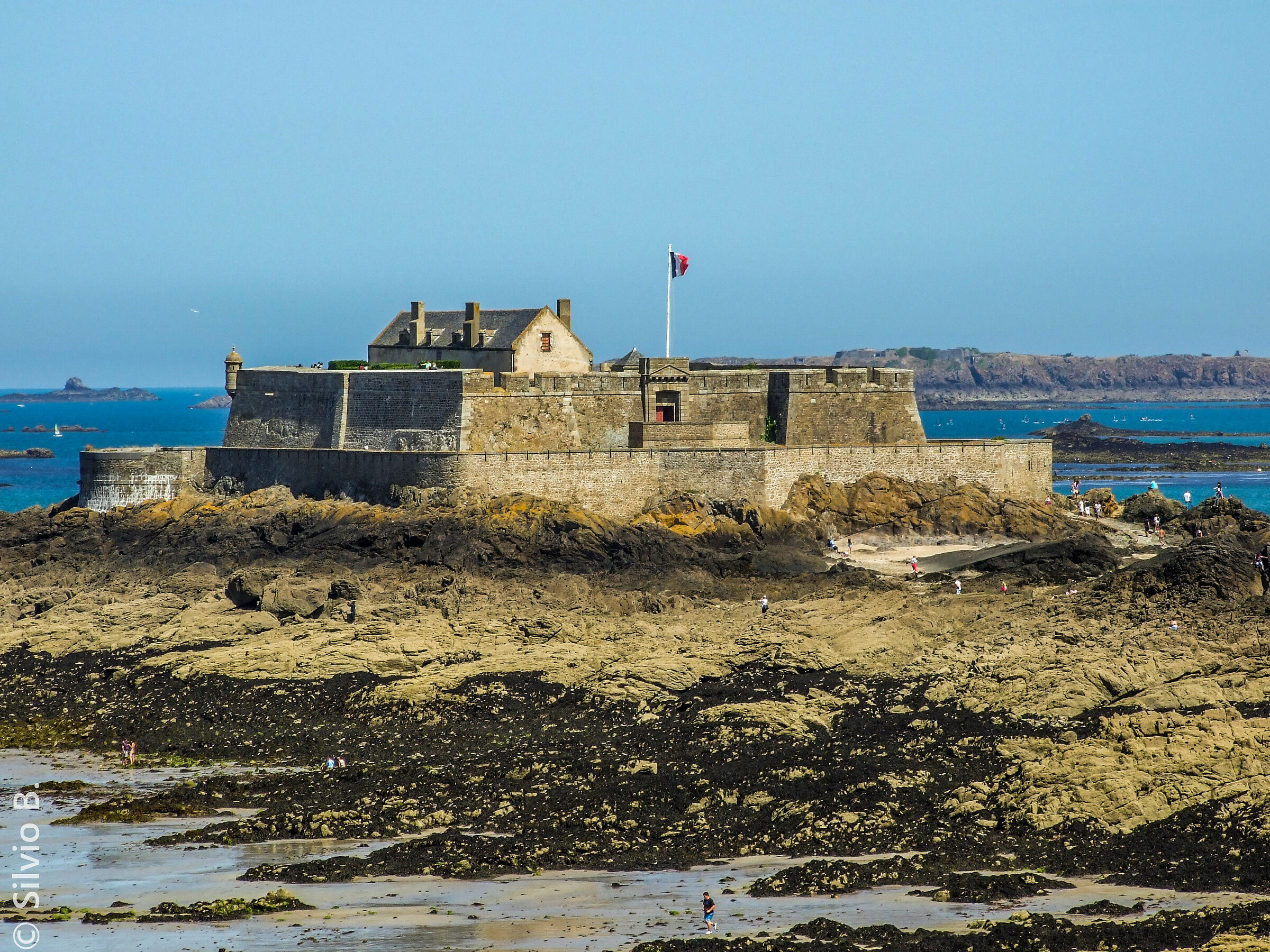 Saint Malo from Brittany...