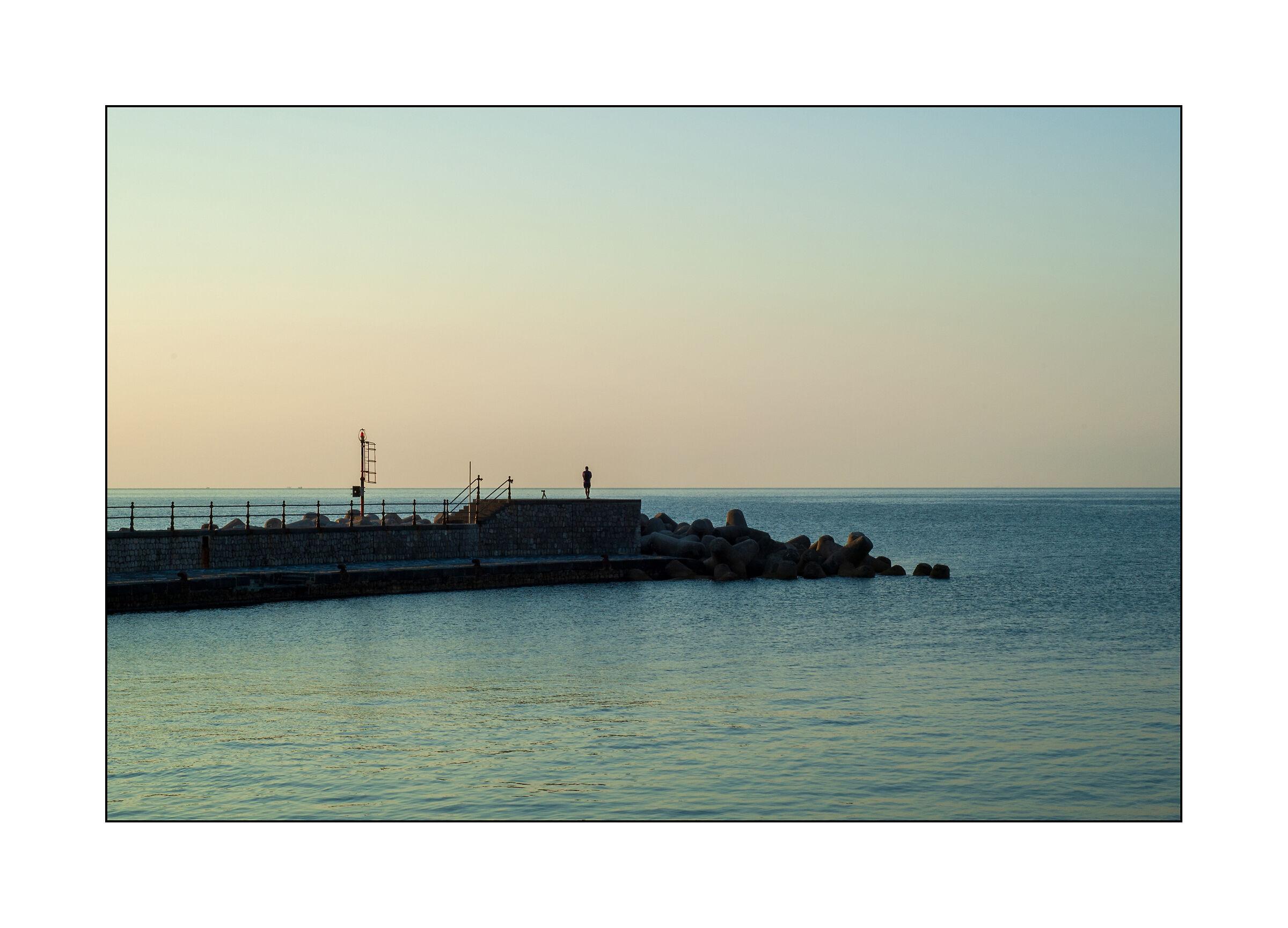The sea.......