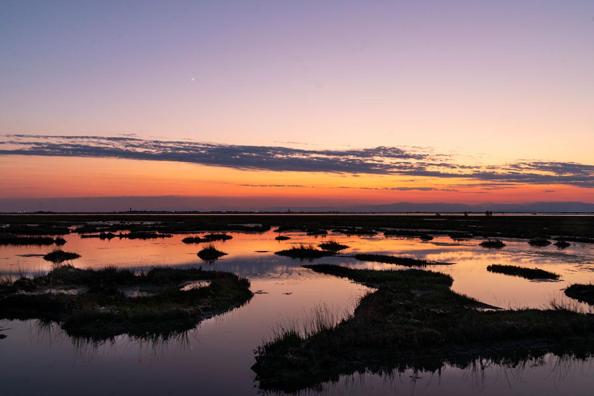 Three Ports (Cavallino) sunset....