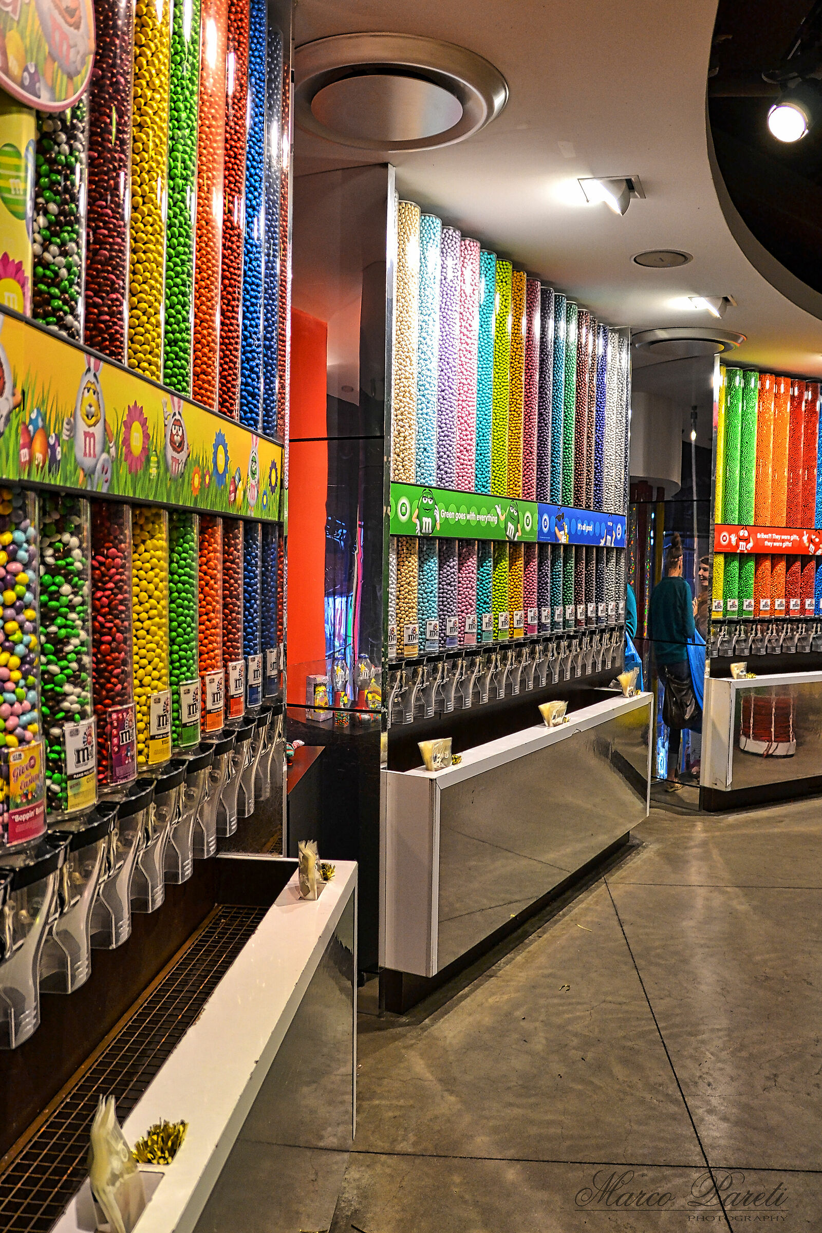m&m's store...