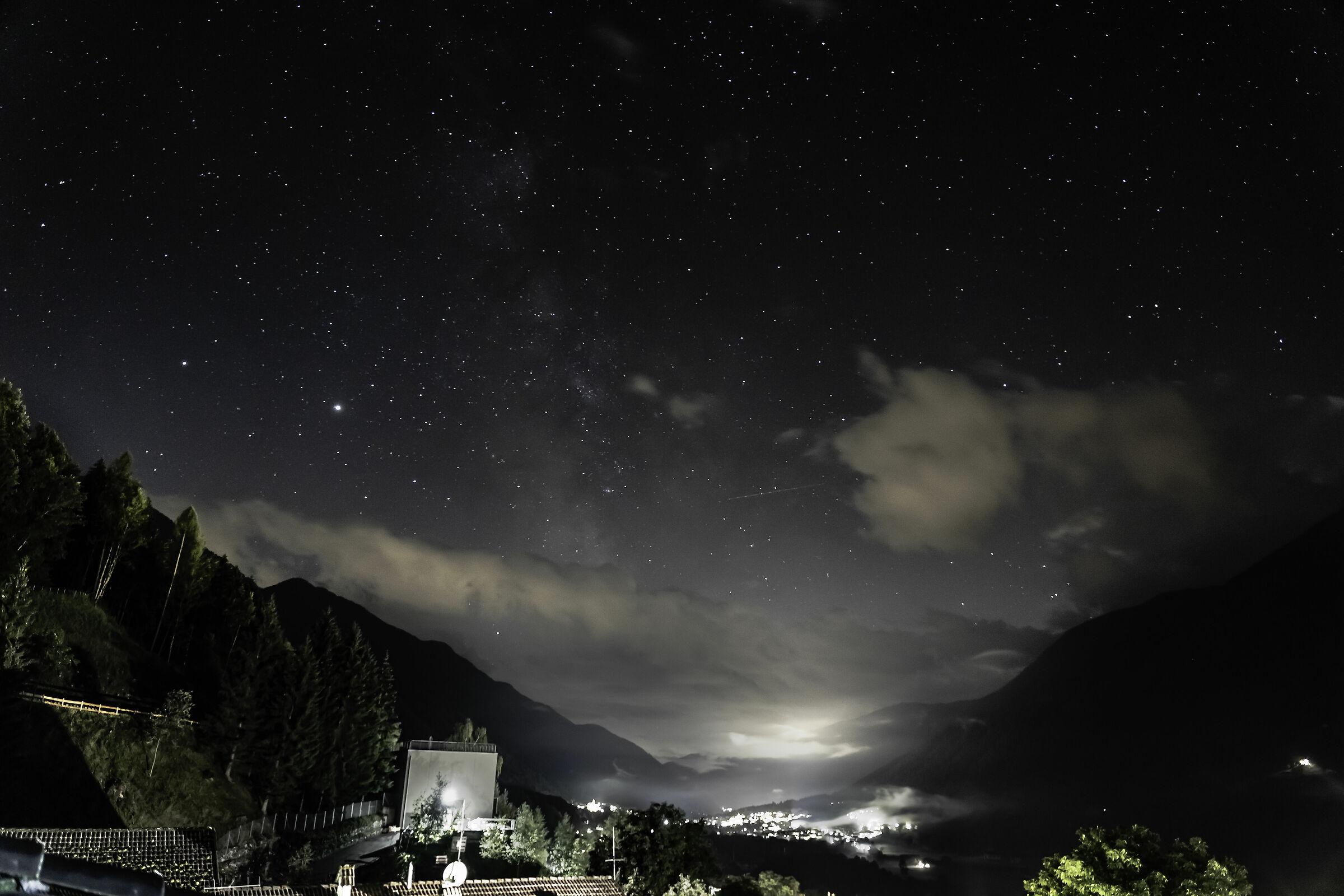 Milky Way test ... novice :-(...