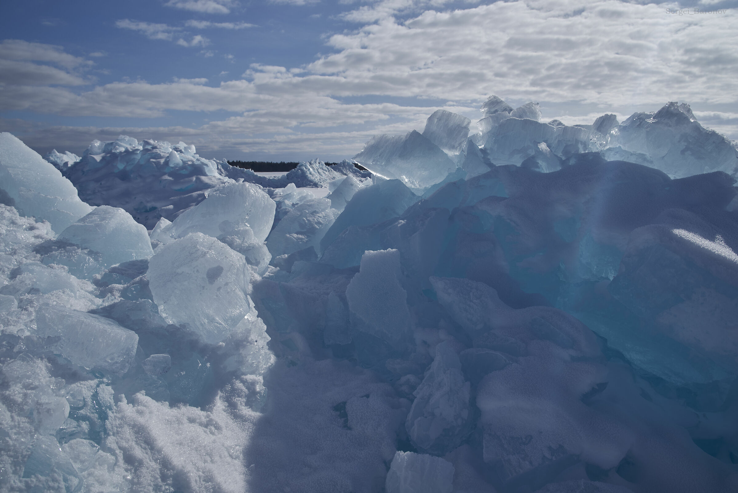 Ladoga ice...