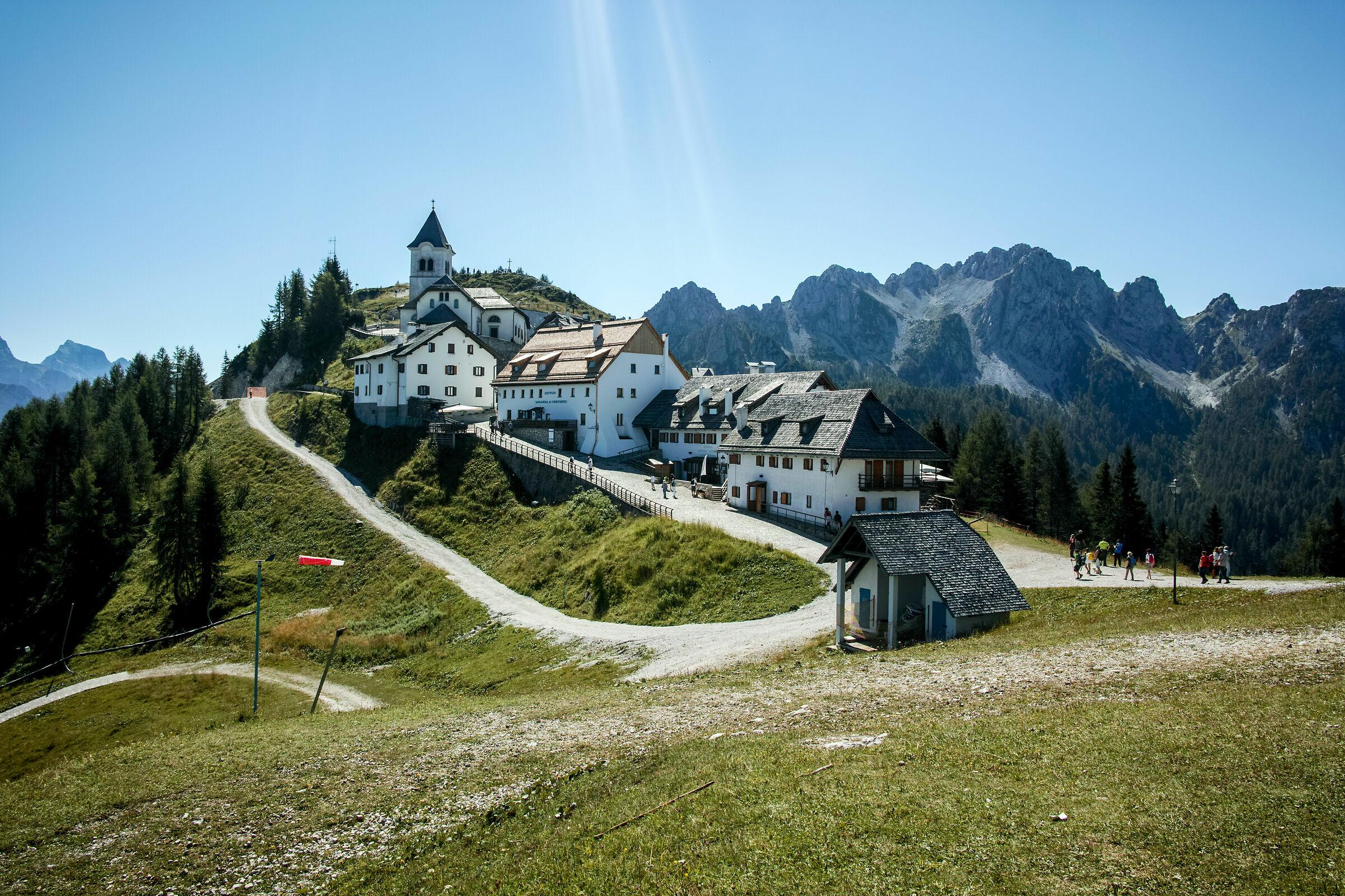 Mount Lussari...