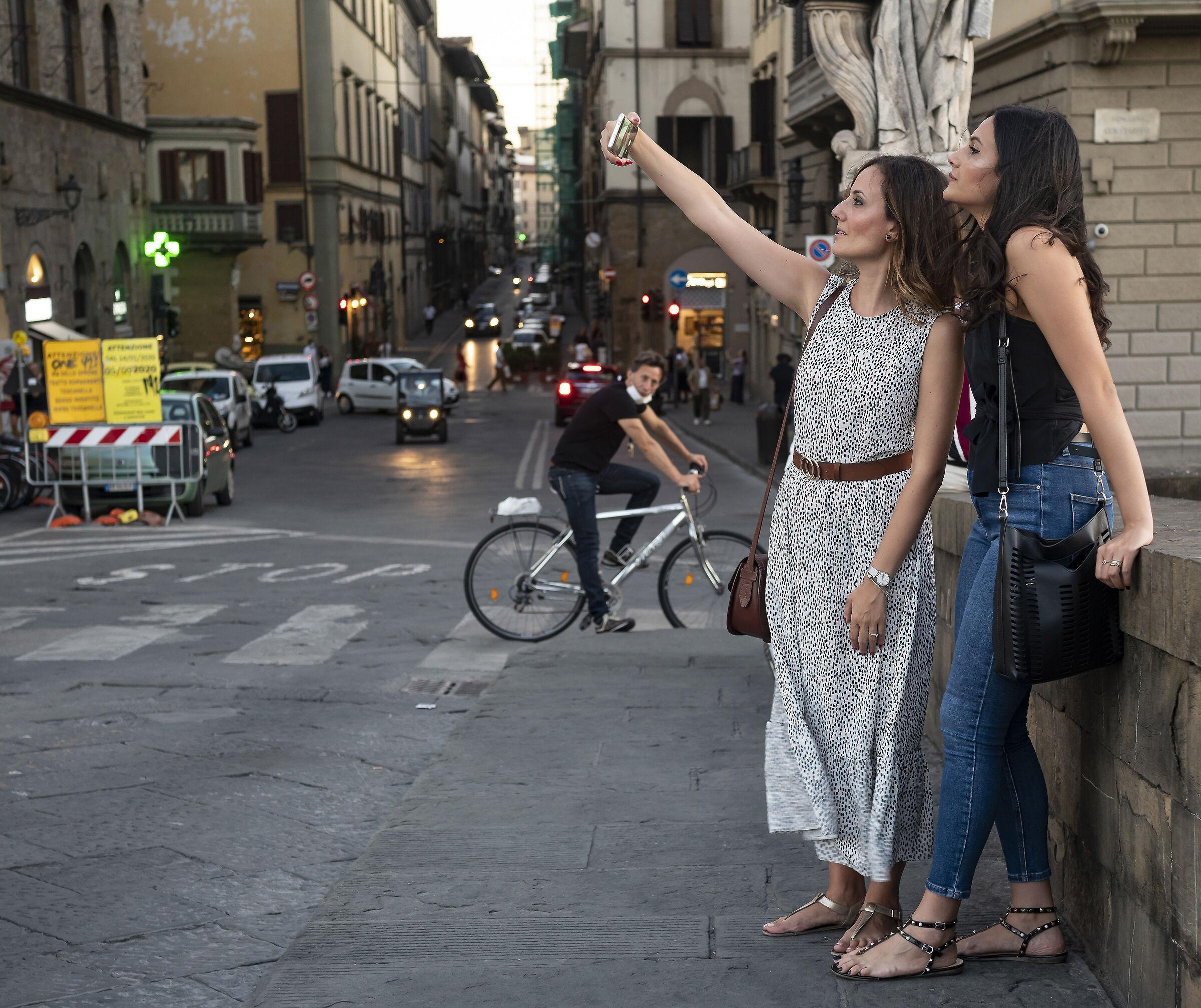 The selfie...