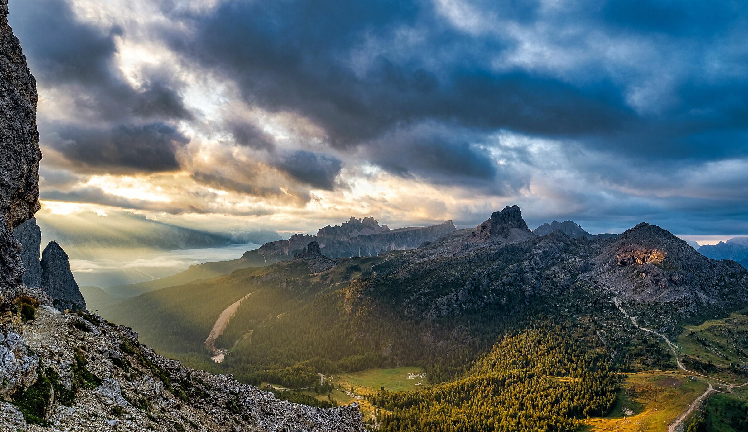 High Pass on Dolomites...