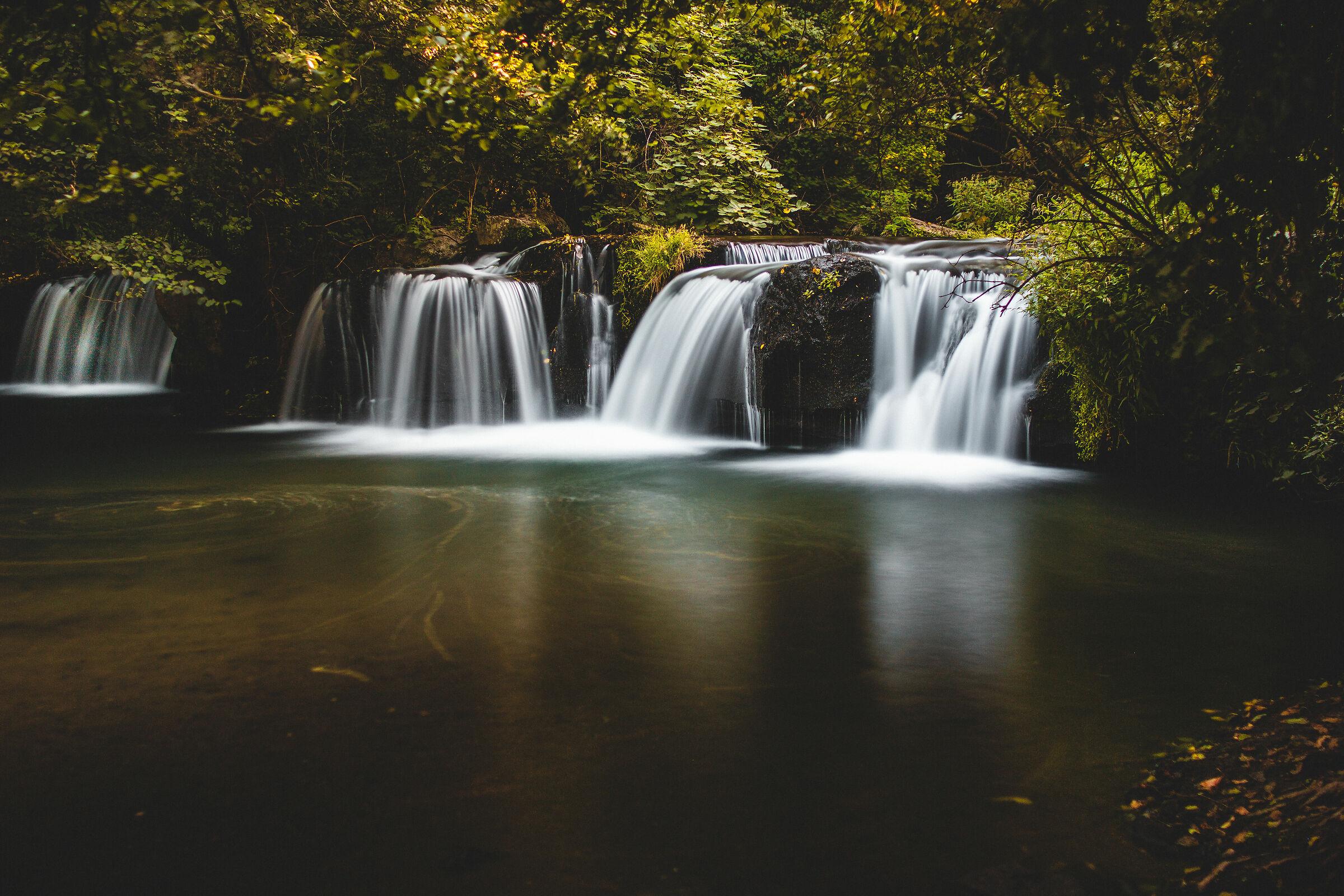 Monte Gelato Falls...