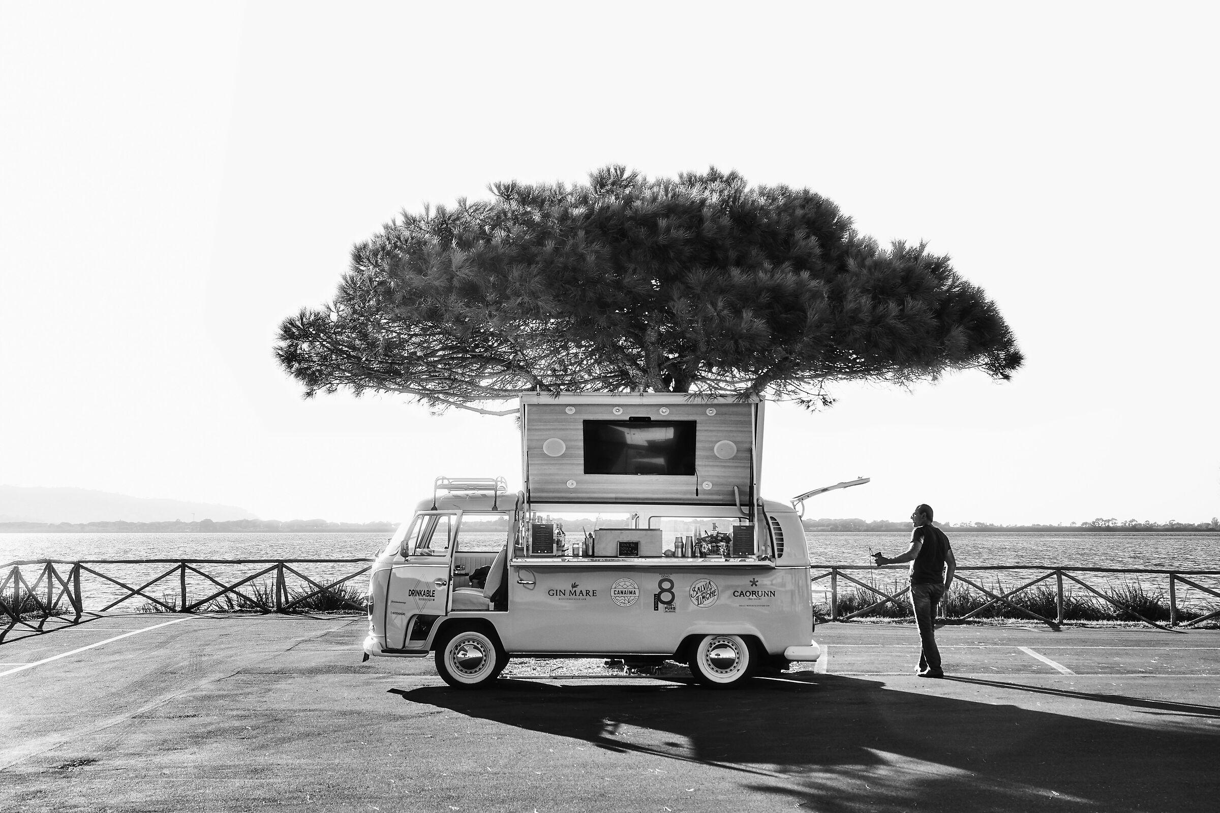 The drink dream car...