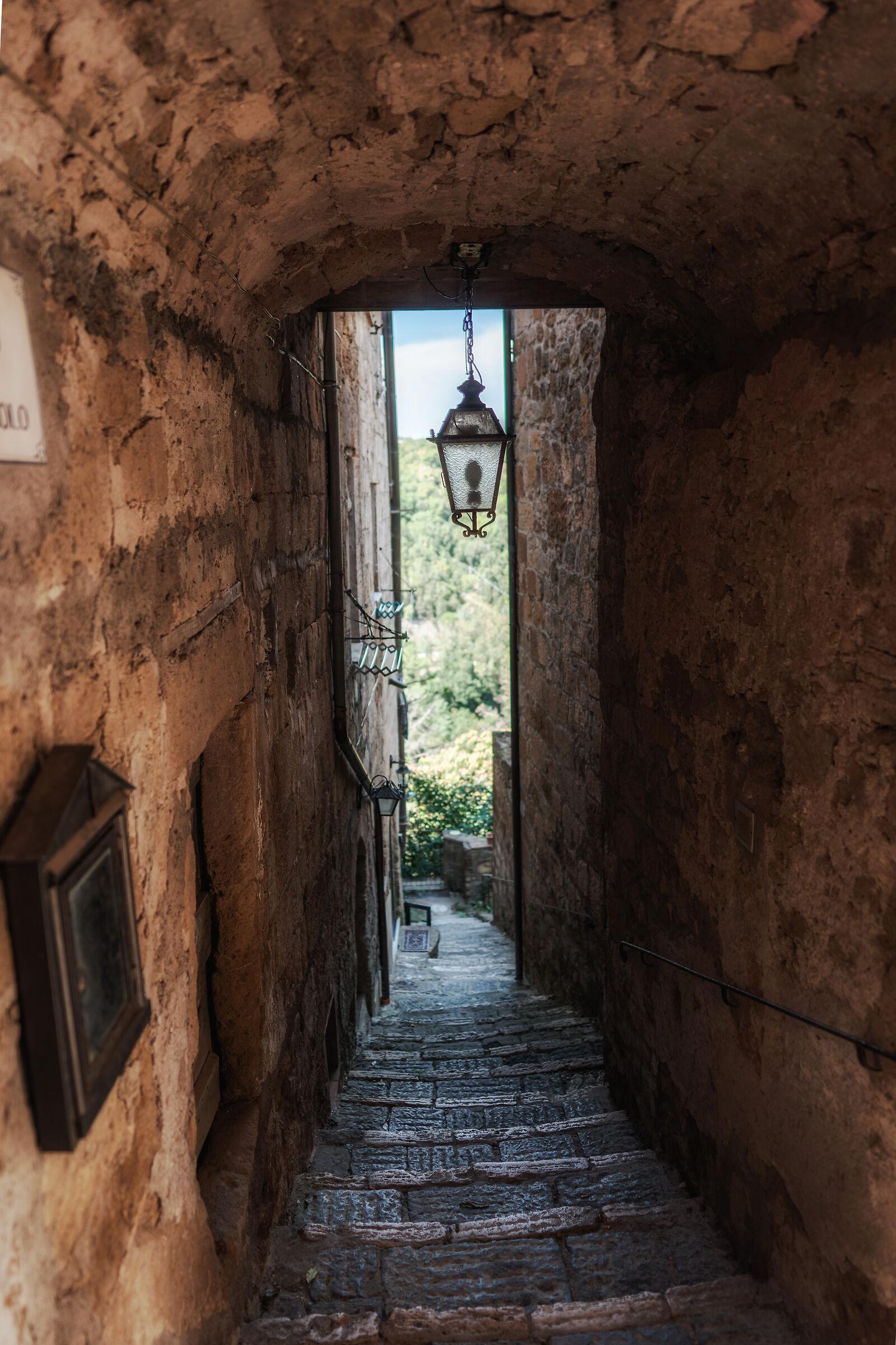 Vicoletto in Pitigliano...