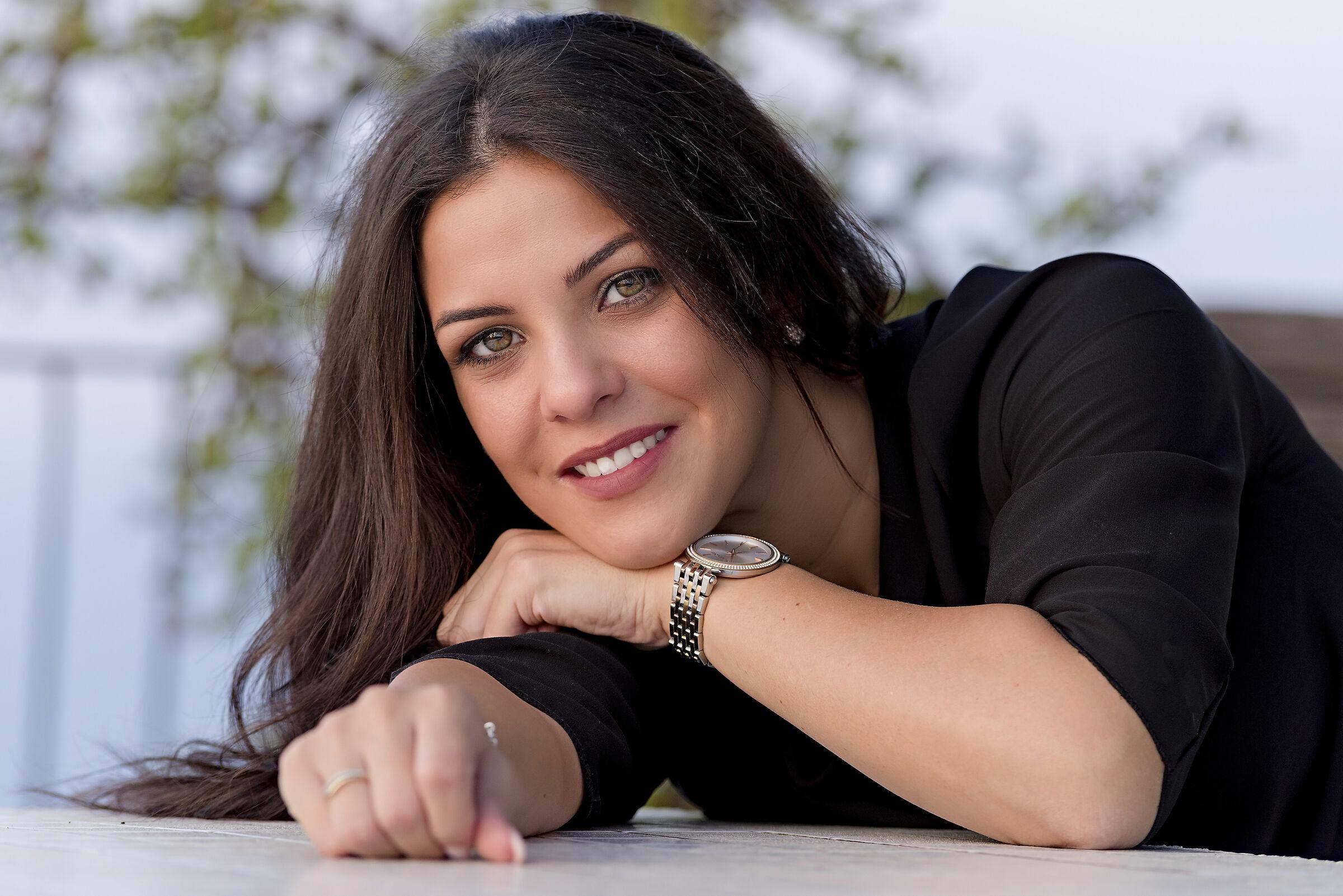 Rosanna smile ...