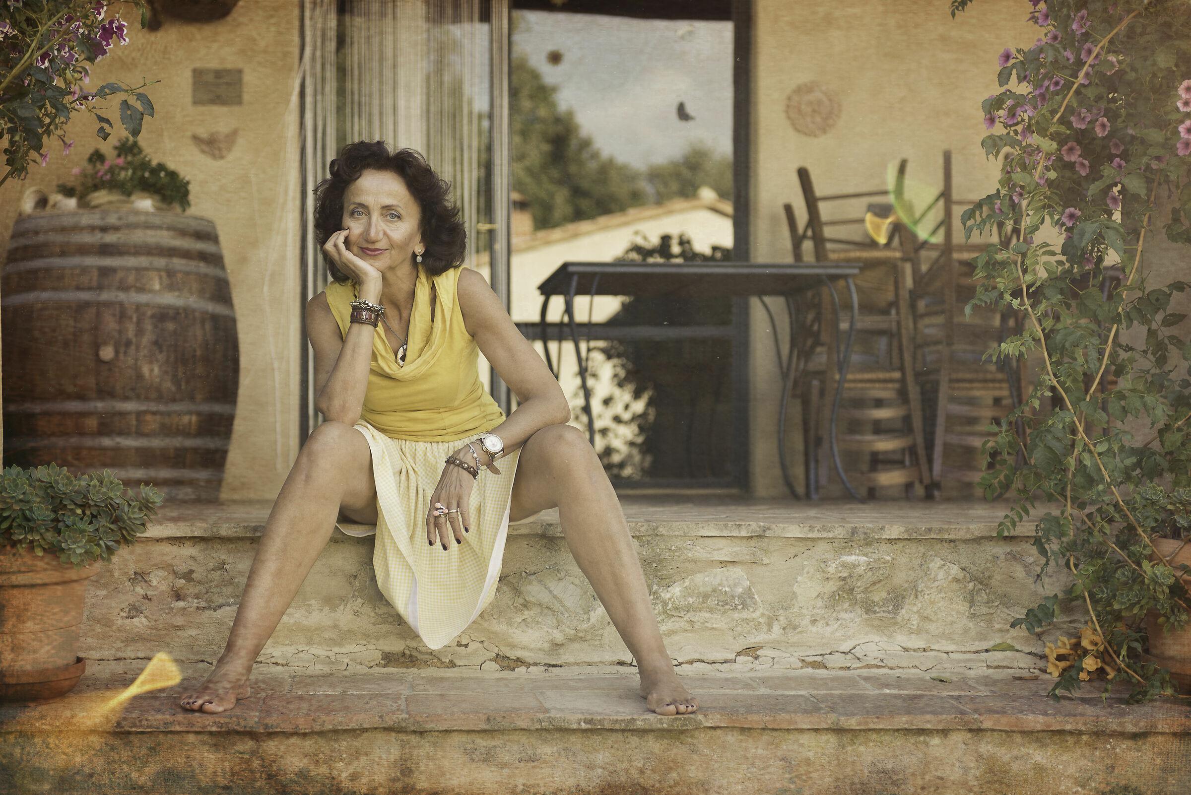 Under the Tuscan sun...