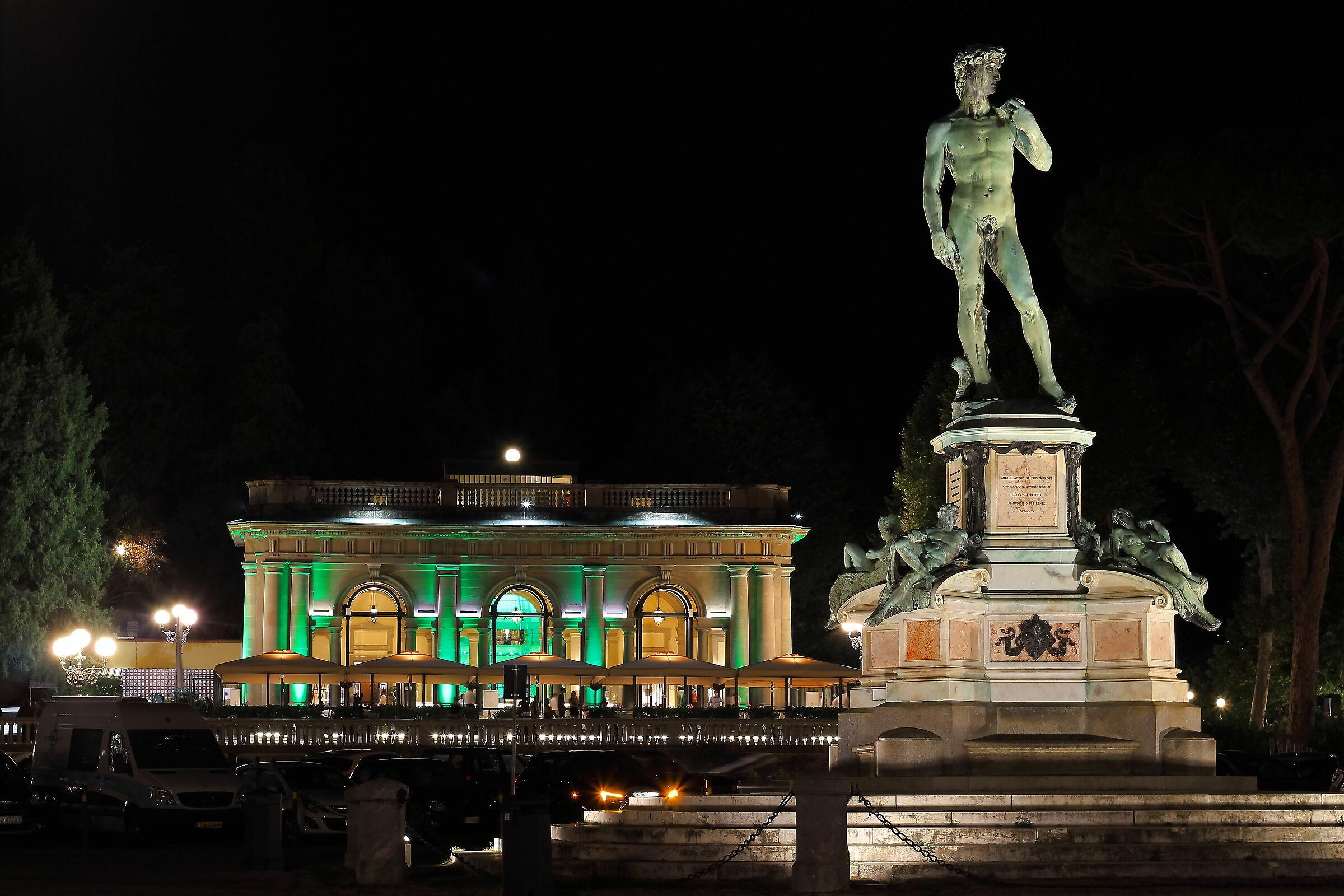 The David of (square) Michelangelo...