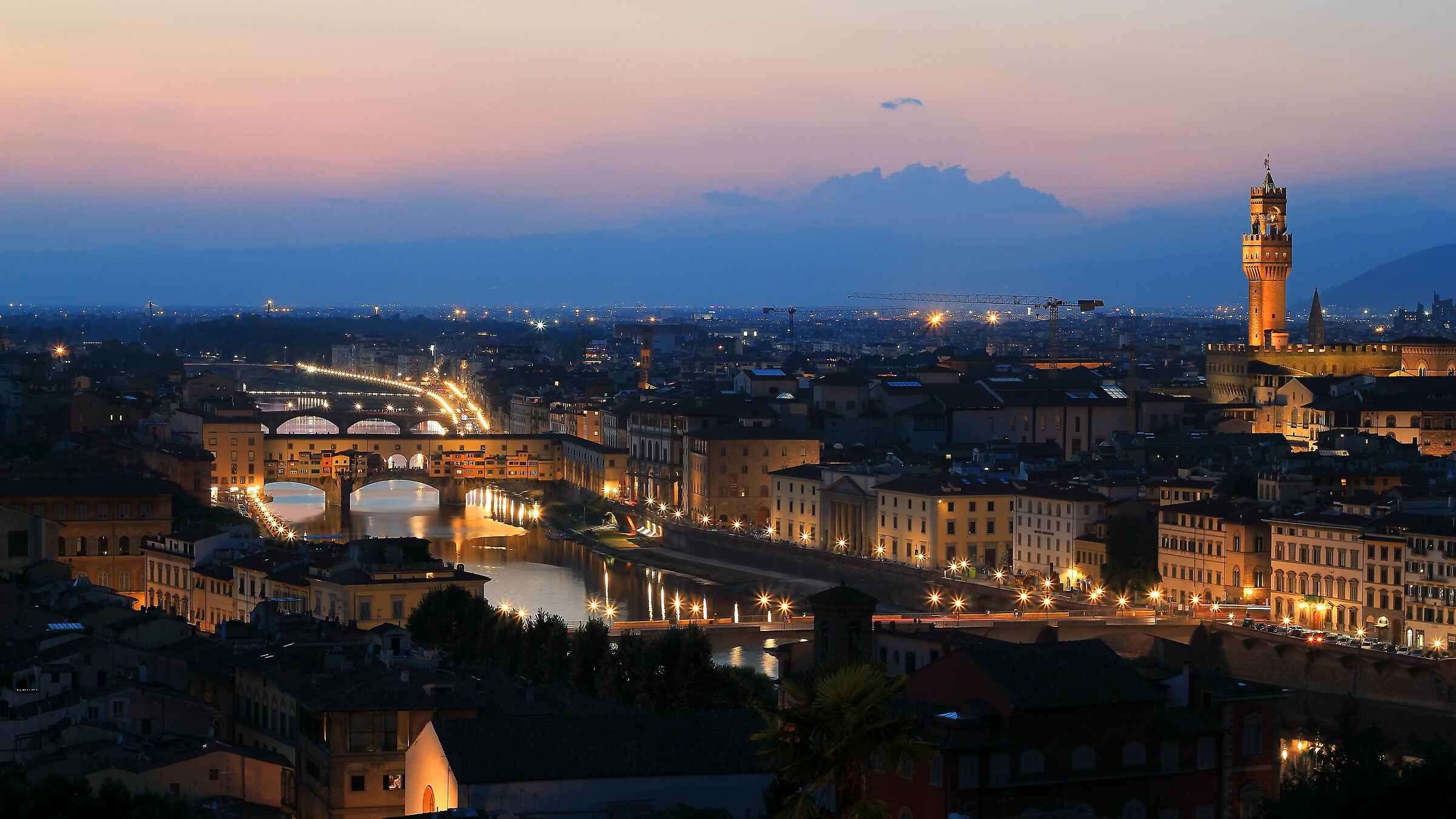 L'Arno e i suoi ponti...