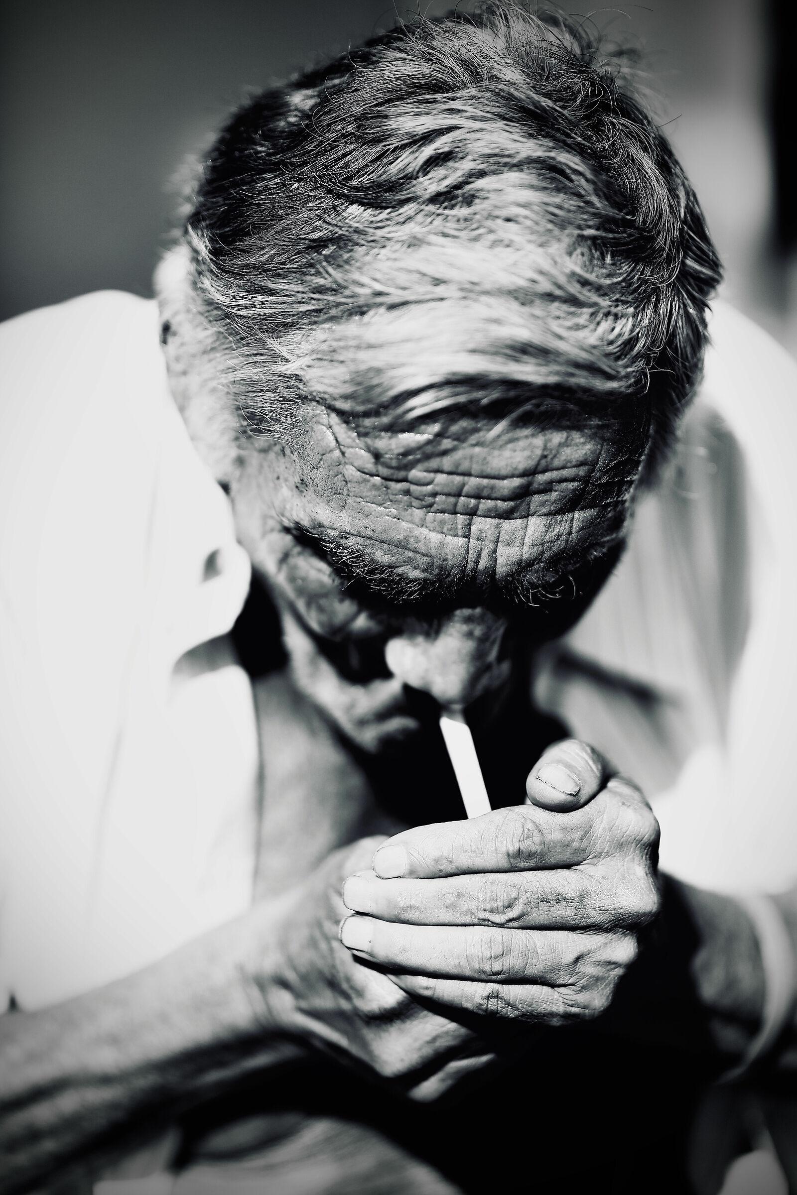 Cigarette...