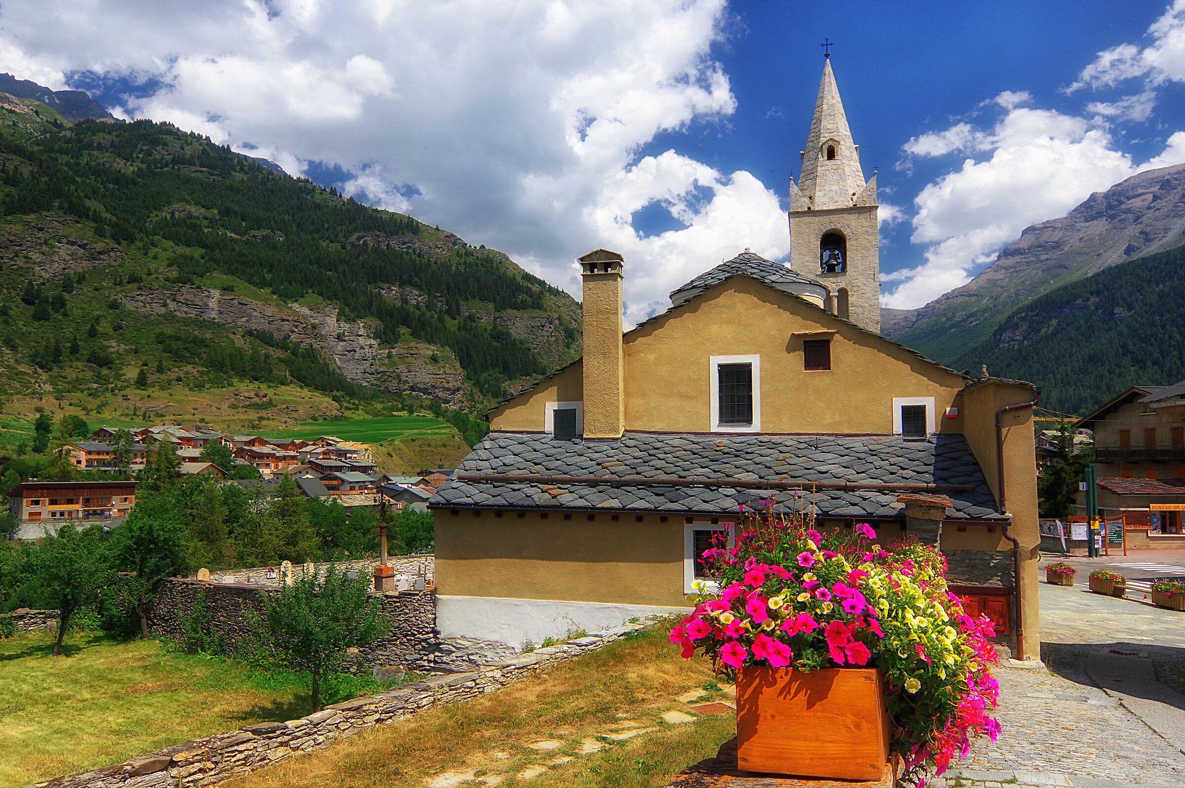 Eglise de Saint Michel, Lanslebourg (Mont Cenis)...