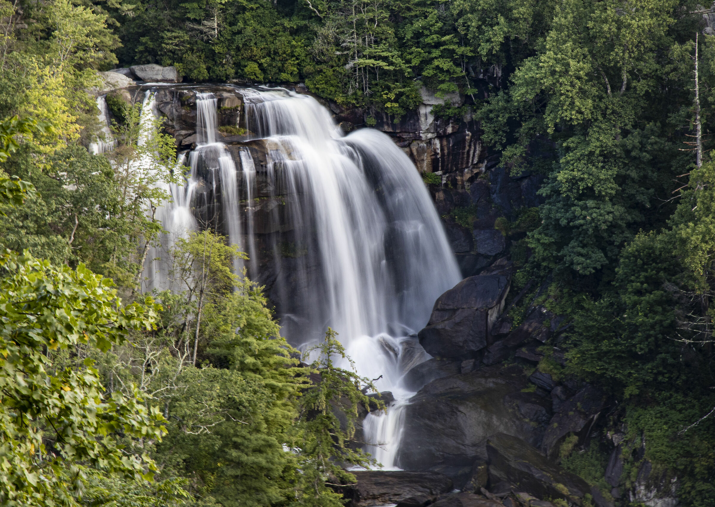 Upper Whitewater Falls, Sapphire North Carolina...