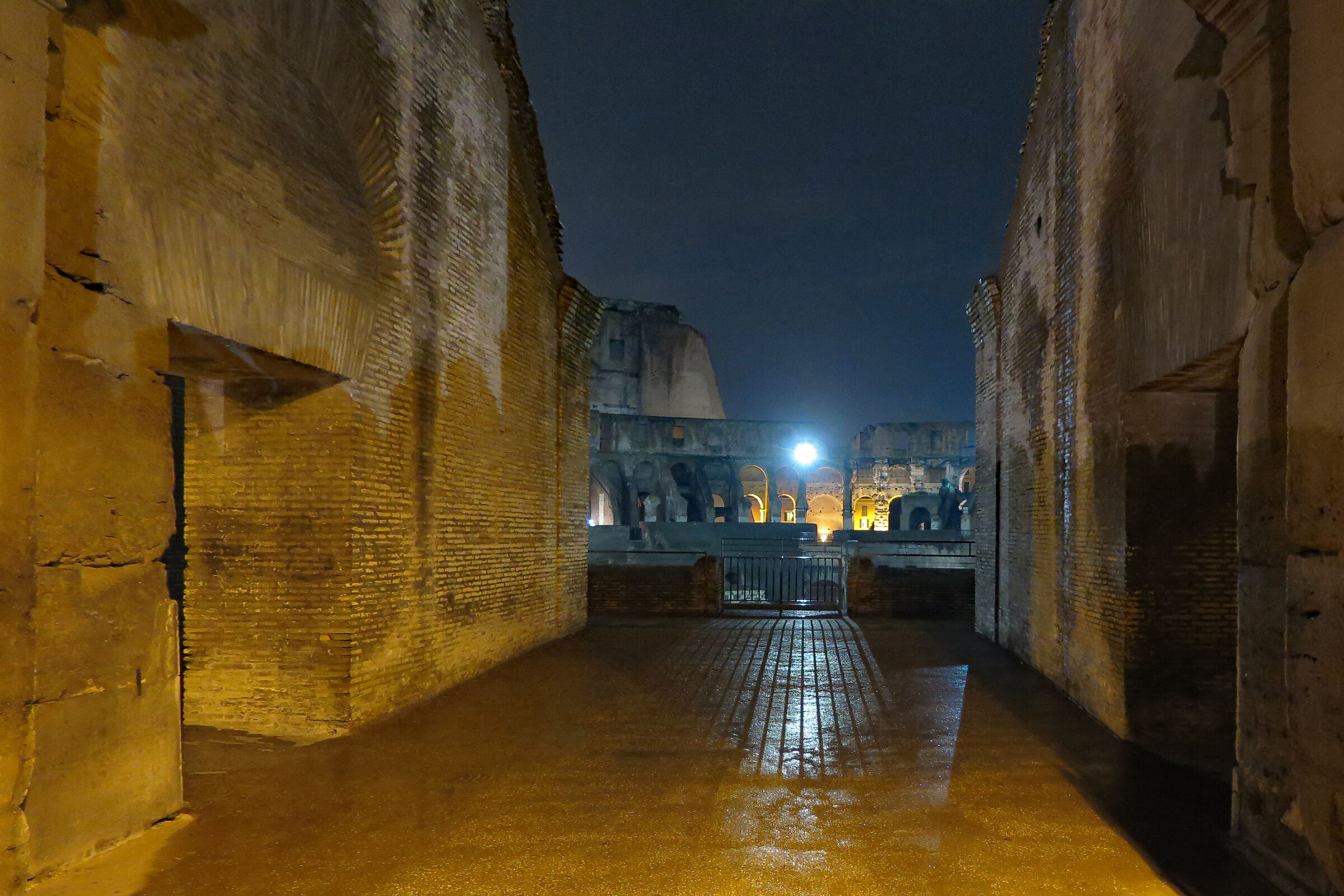 Colosseum at night...