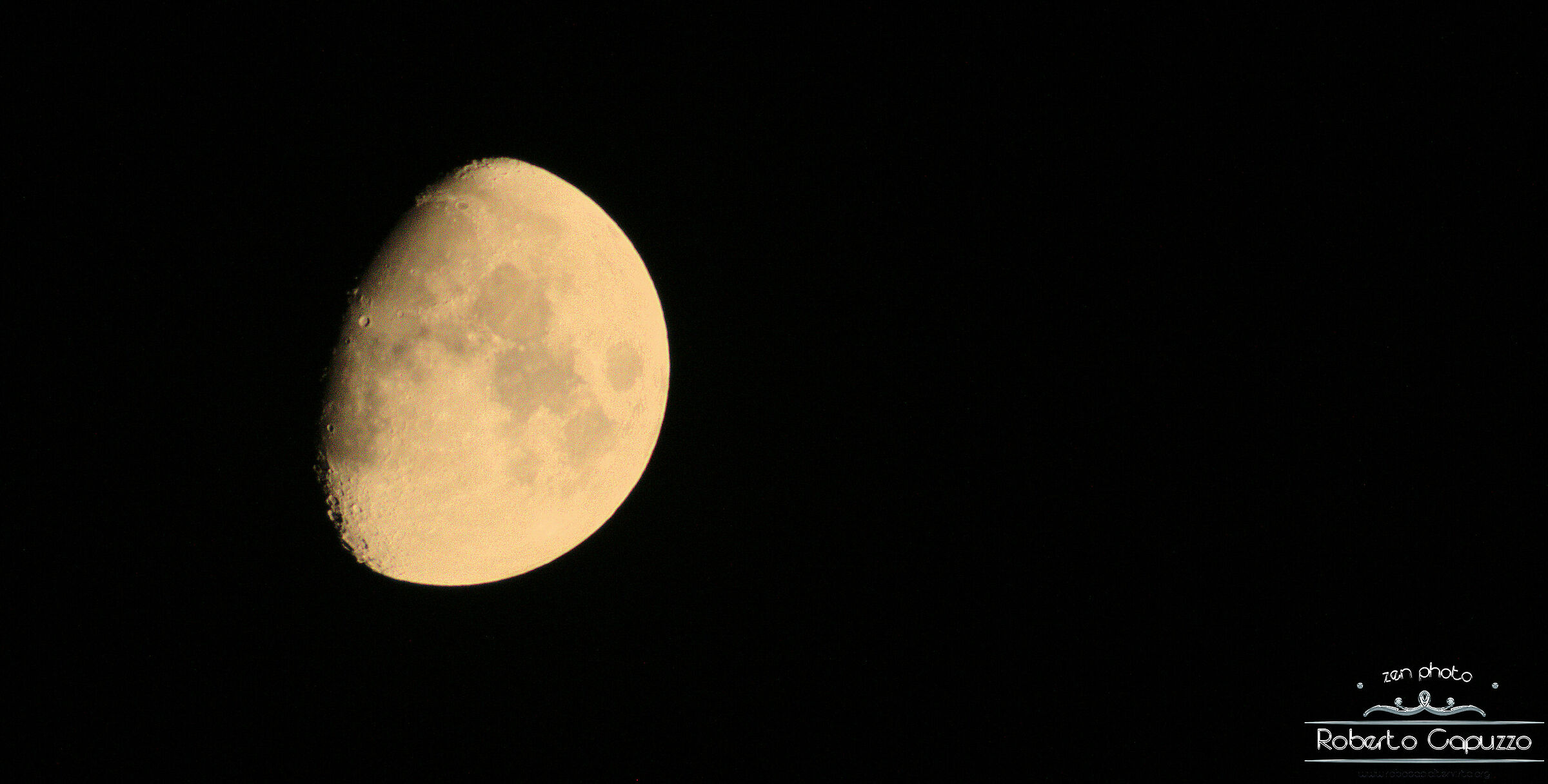 Luna crescente di fine estate...