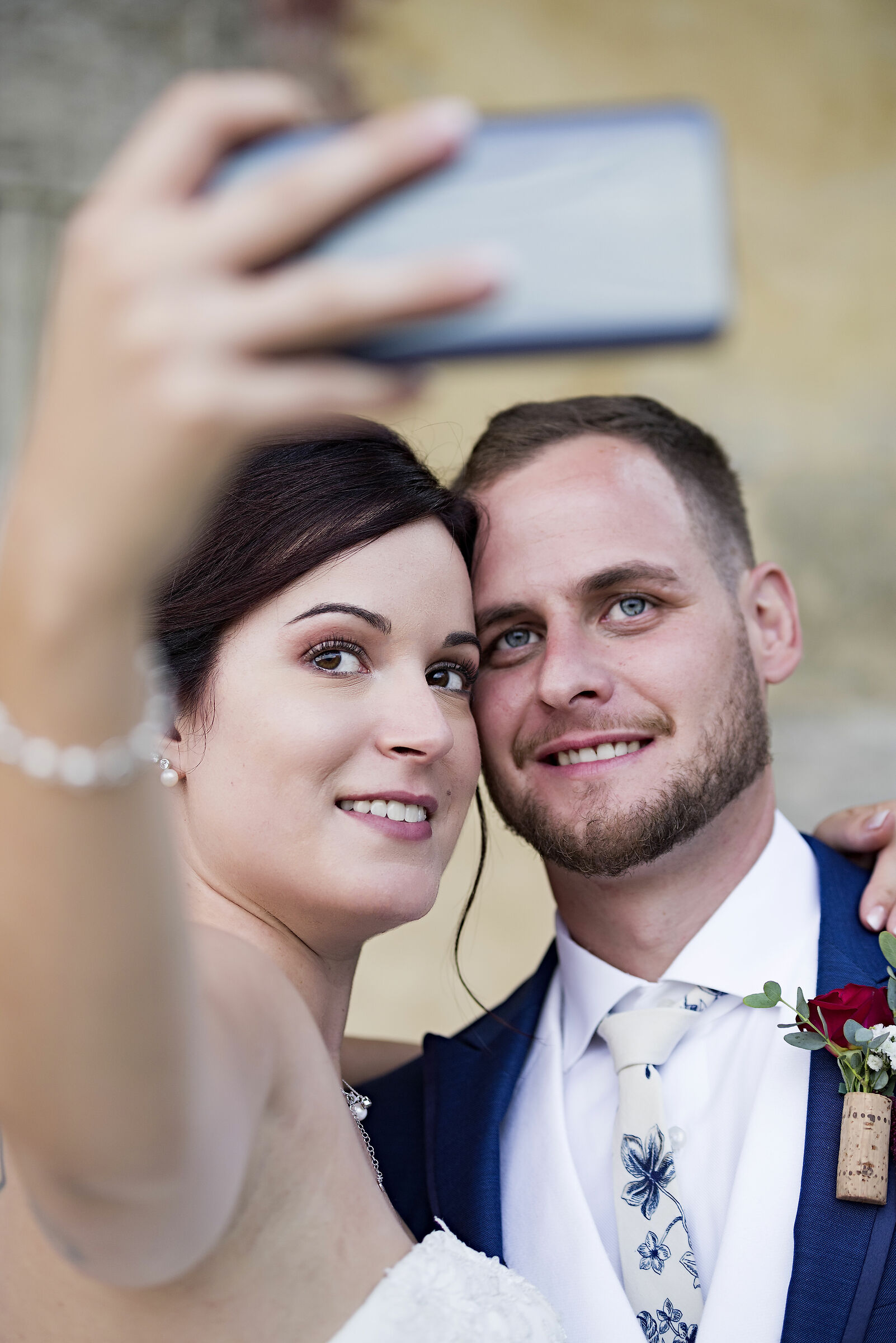 Wedding selfie ...