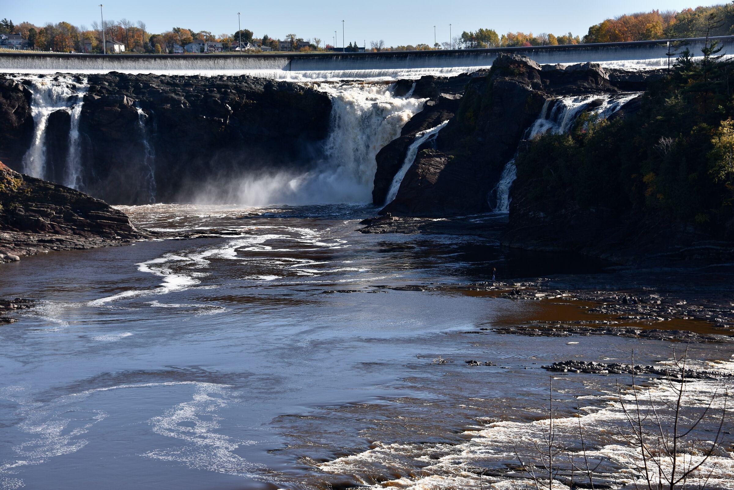 Chaudière Falls..Lévis, Quebec City ......